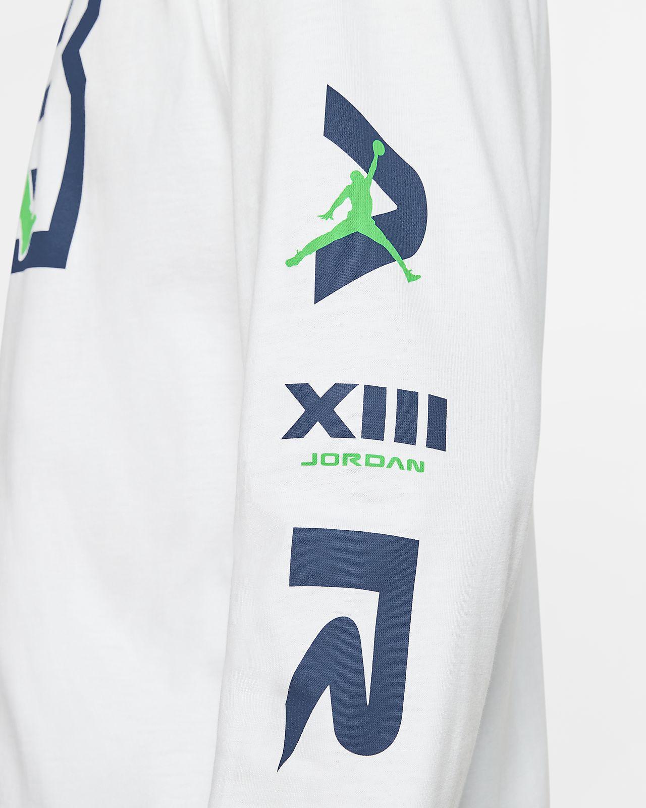 Tee shirt à manches longues Jordan Legacy AJ13 pour Homme
