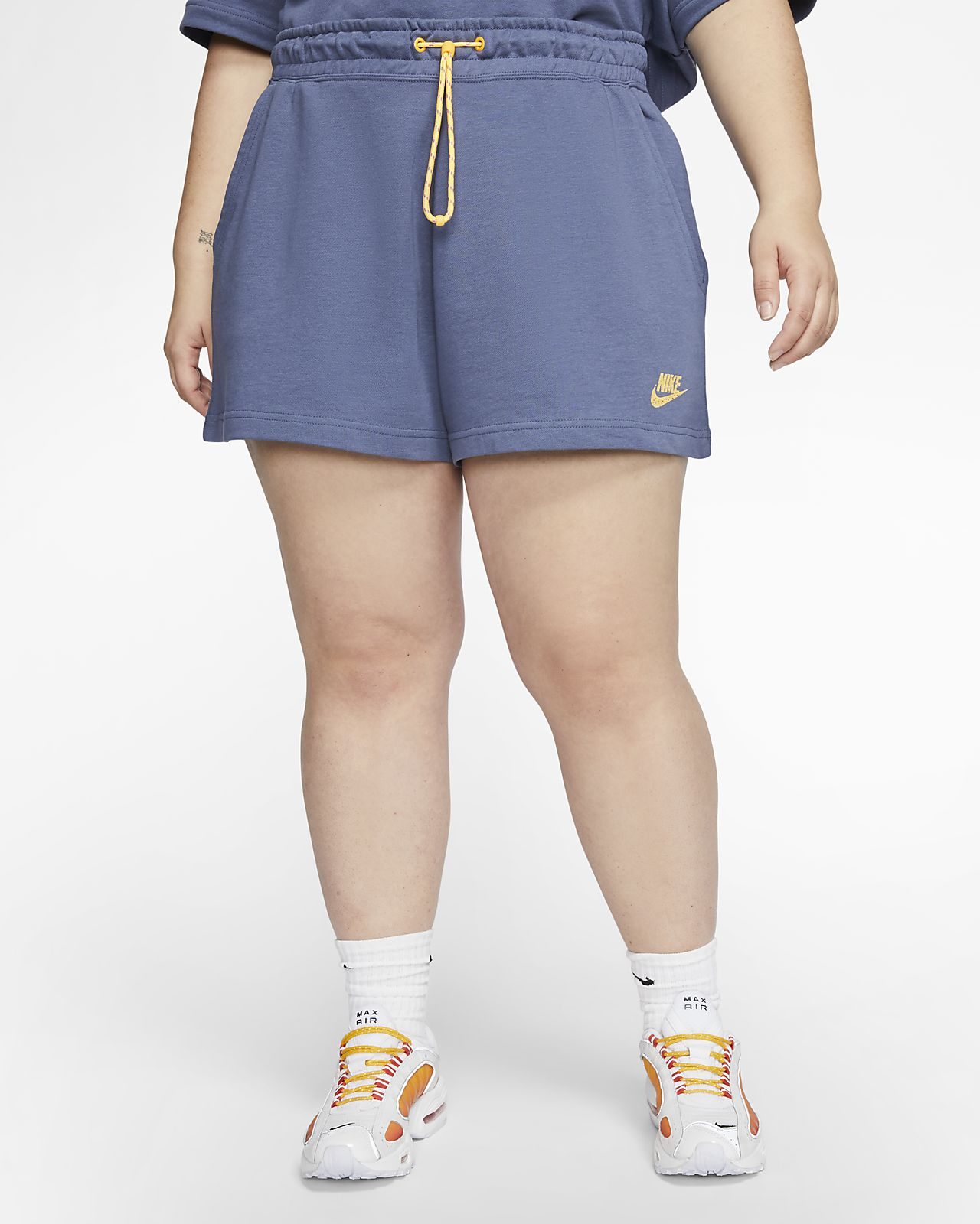 Nike Sportswear Icon Clash Women's French Terry Shorts (Plus Size)