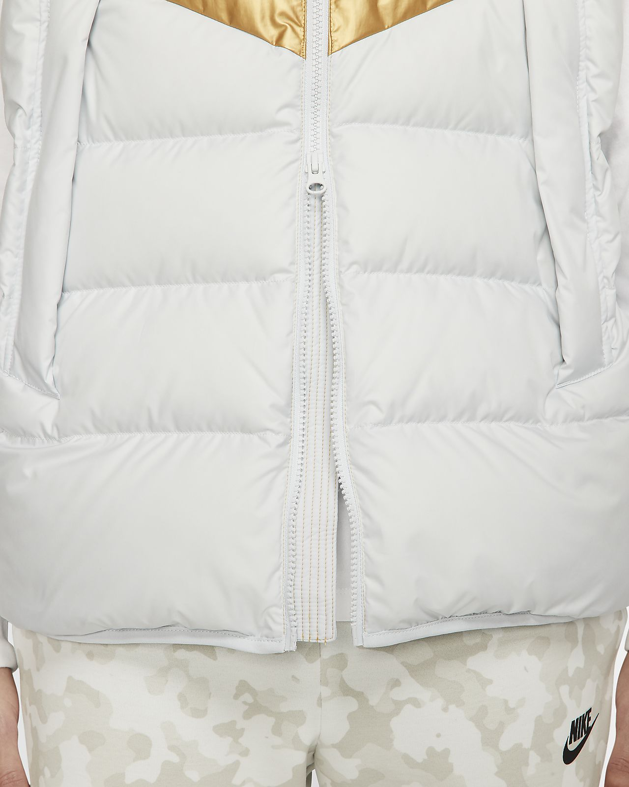 Down Fill Gilet Jacket