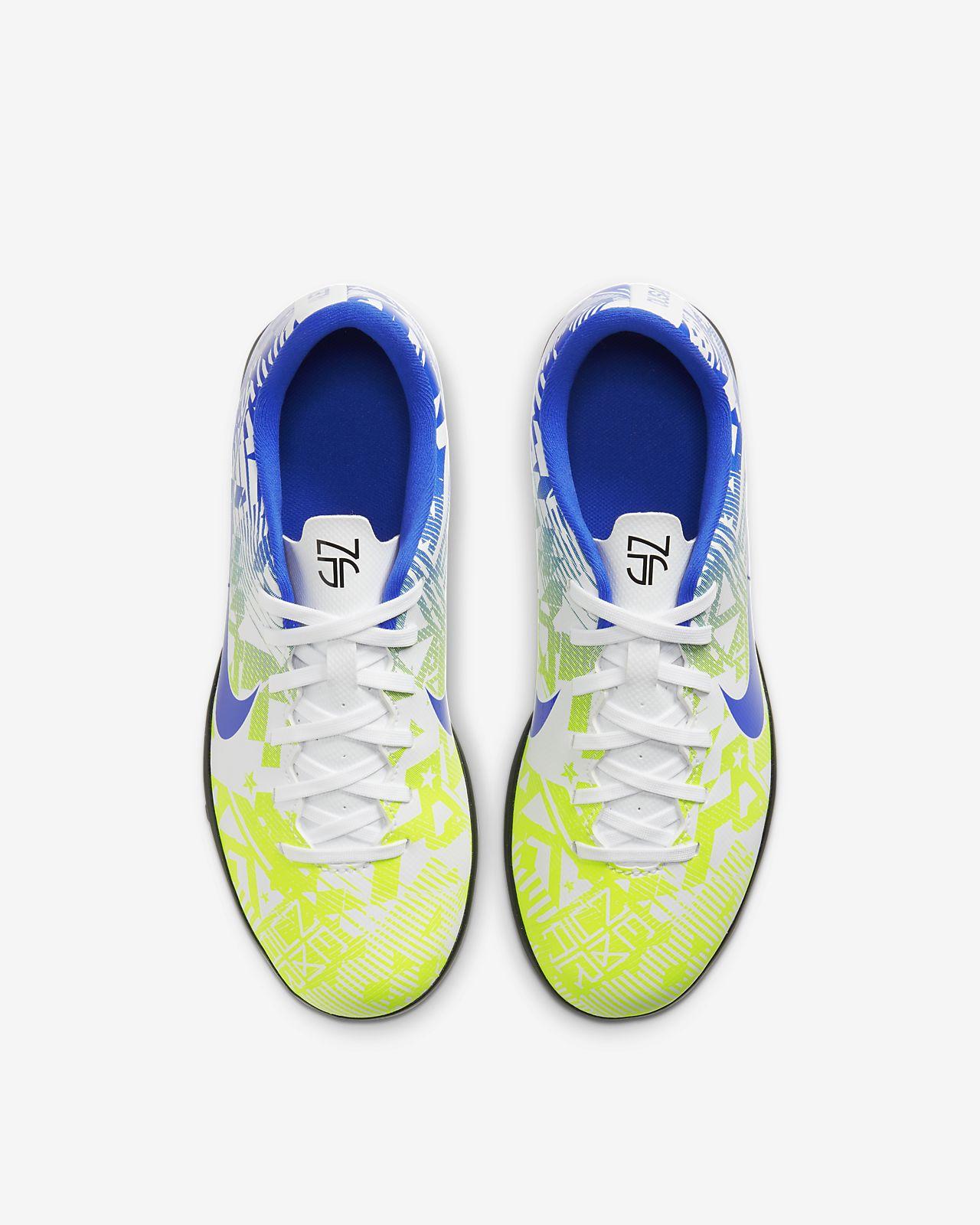 pala factible Objeción  Nike Jr. Mercurial Vapor 13 Club Neymar Jr. TF Younger/Older Kids ...
