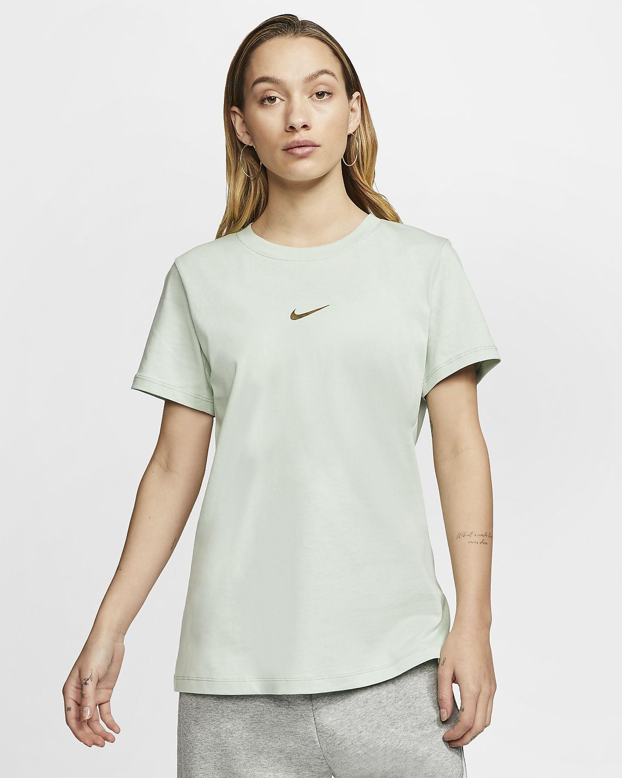t shirt nike swoosh donna