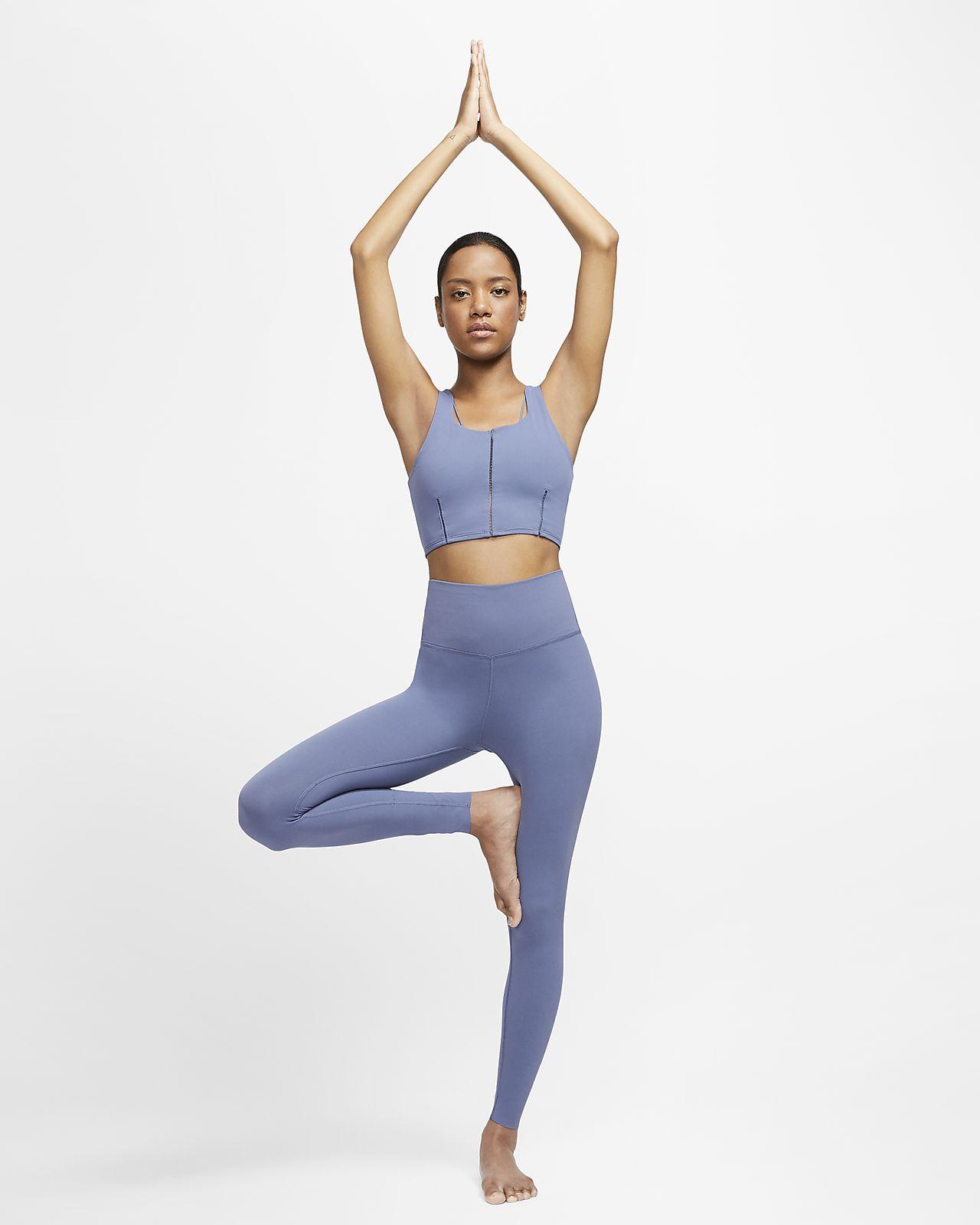 Nike Yoga Luxe Women S Infinalon Cropped Tank Nike At