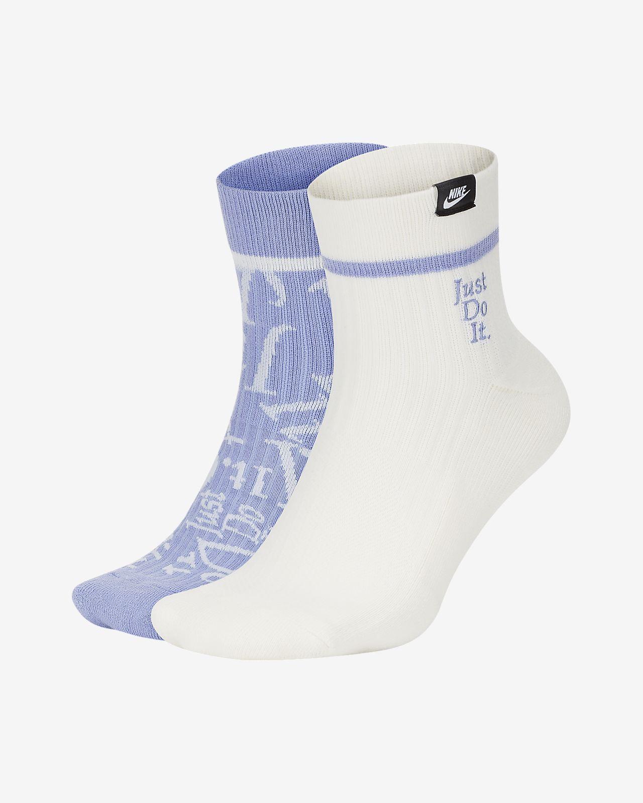 Kotníkové ponožky Nike SNEAKR Sox JDI (2 páry)