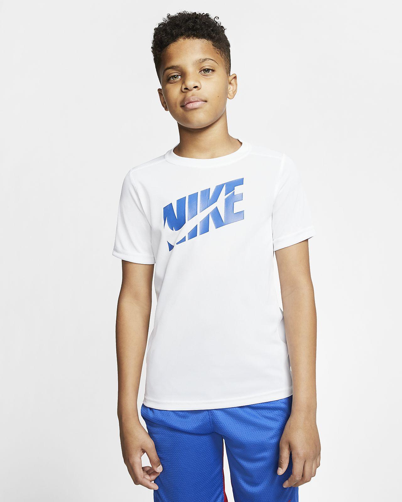 Nike 大童(男孩)短袖训练上衣