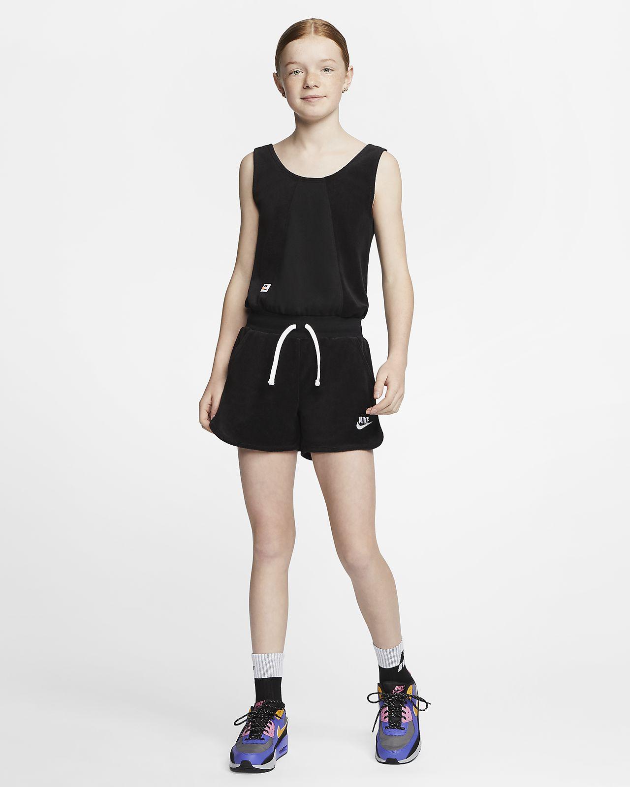 Nike Sportswear Heritage 大童(女孩)连体衣