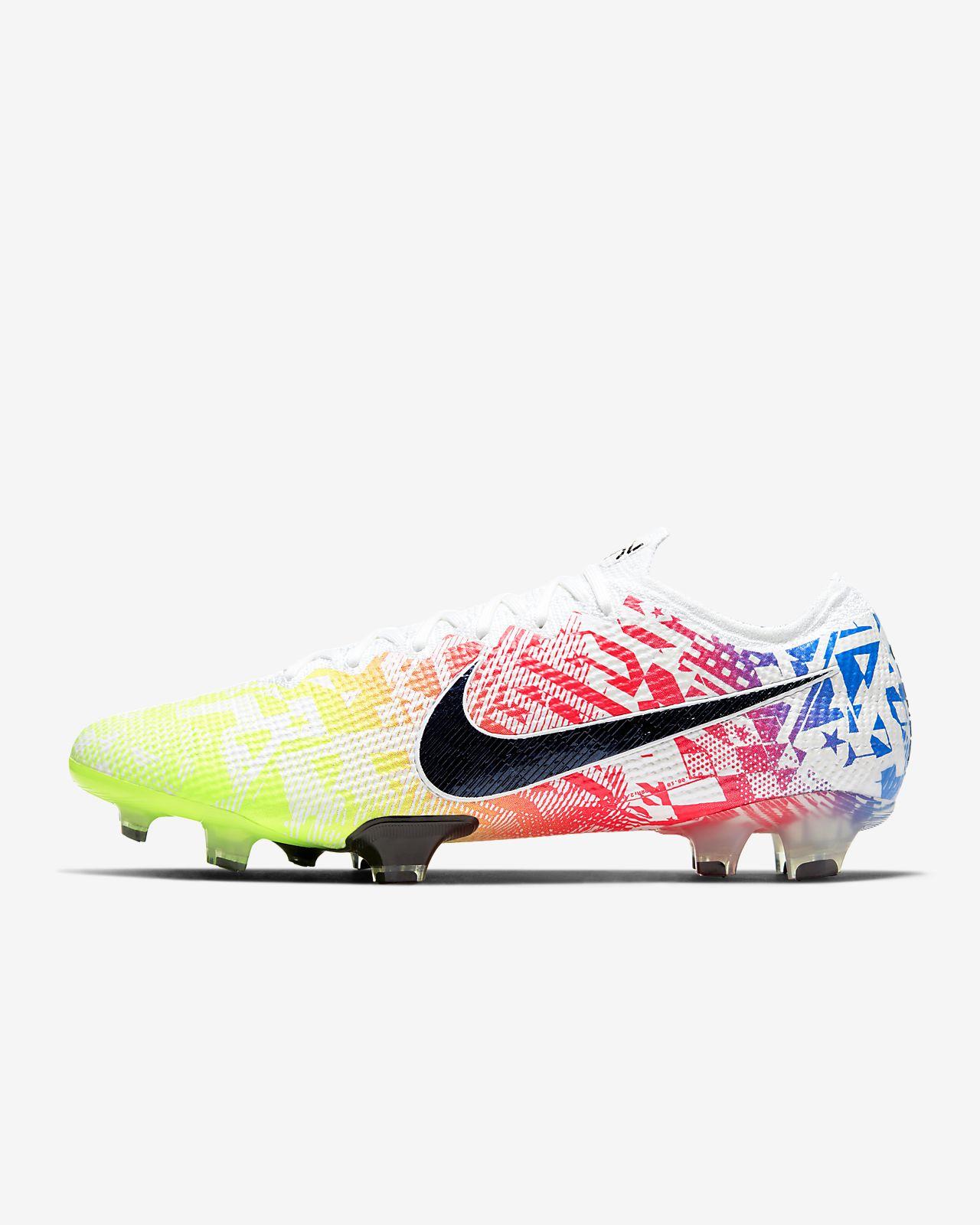 รองเท้าสตั๊ดฟุตบอลสำหรับพื้นสนามทั่วไป Nike Mercurial Vapor 13 Elite Neymar Jr. FG