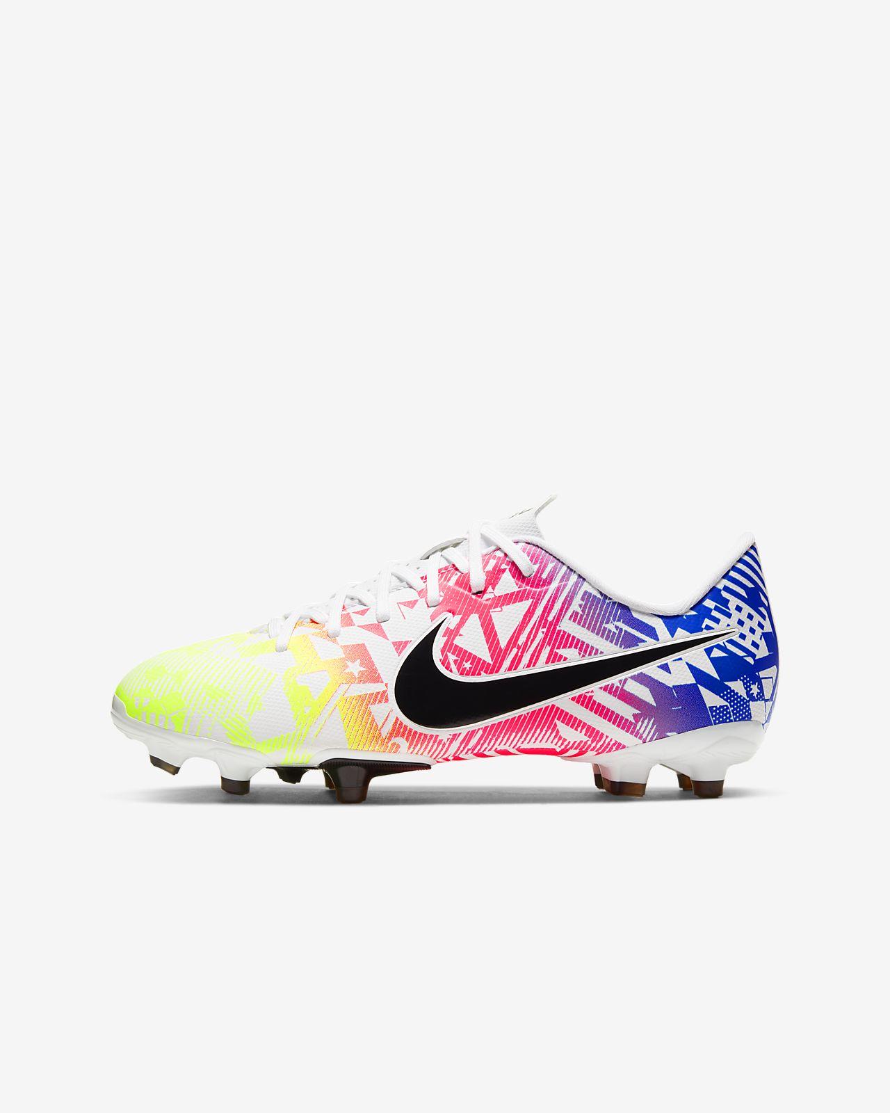 Nike Jr. Mercurial Vapor 13 Academy Neymar Jr. MG Kids' Multi-Ground Football Boot