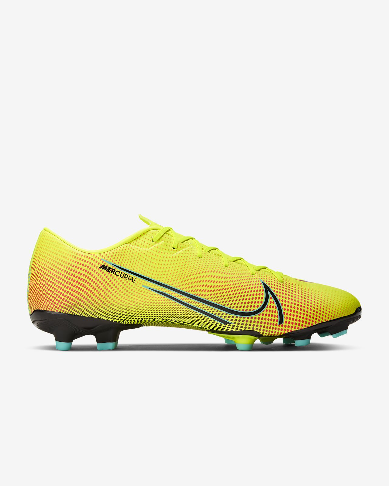 Nike Mercurial Vapor 13 Academy TF Soccer Cleat Black