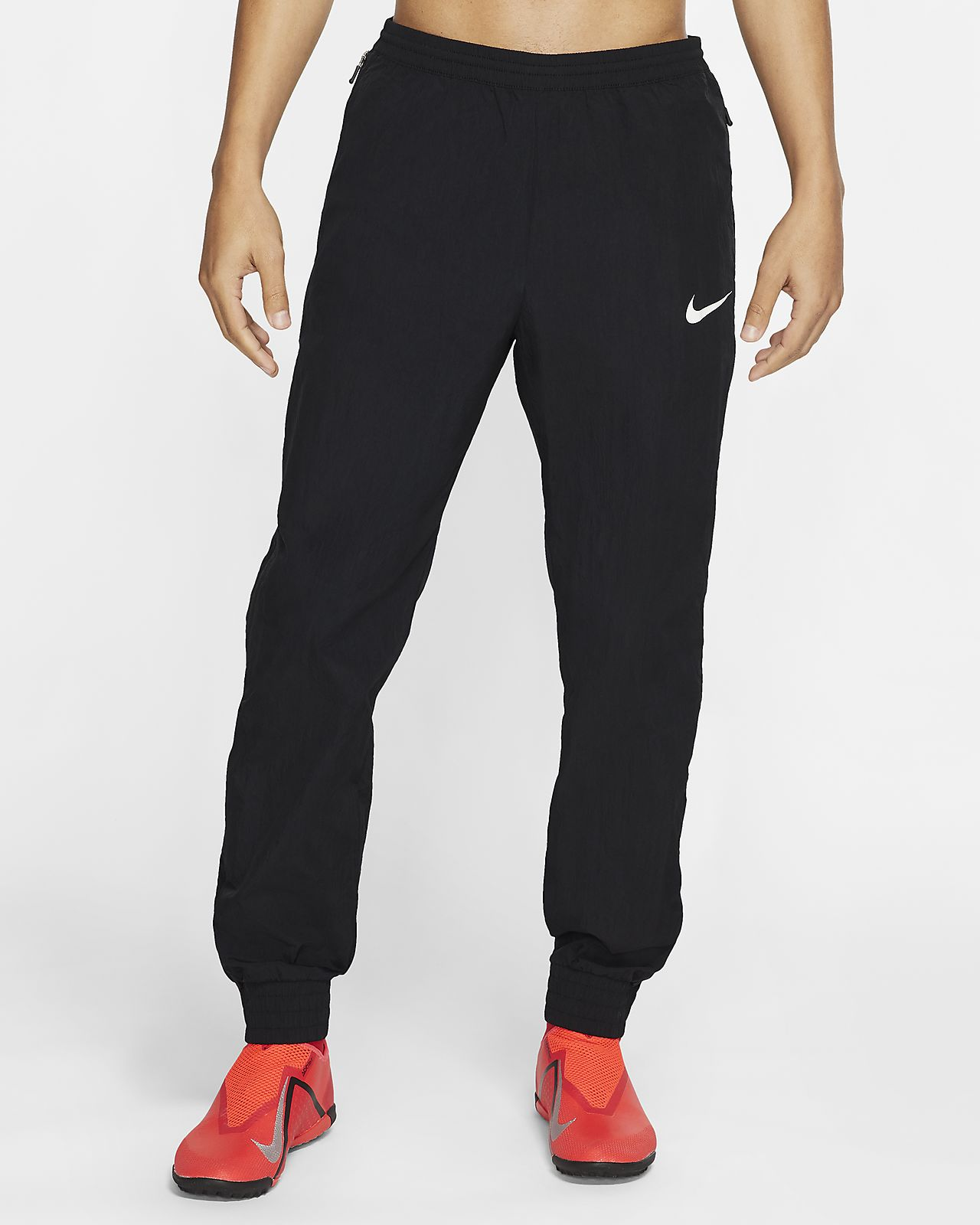 Vævede Nike F.C.-fodboldbukser til mænd