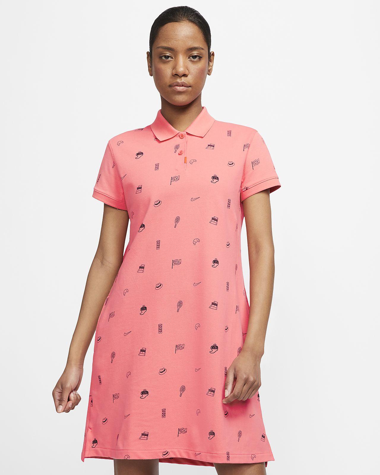 The Nike Polo Vestit estampat - Dona