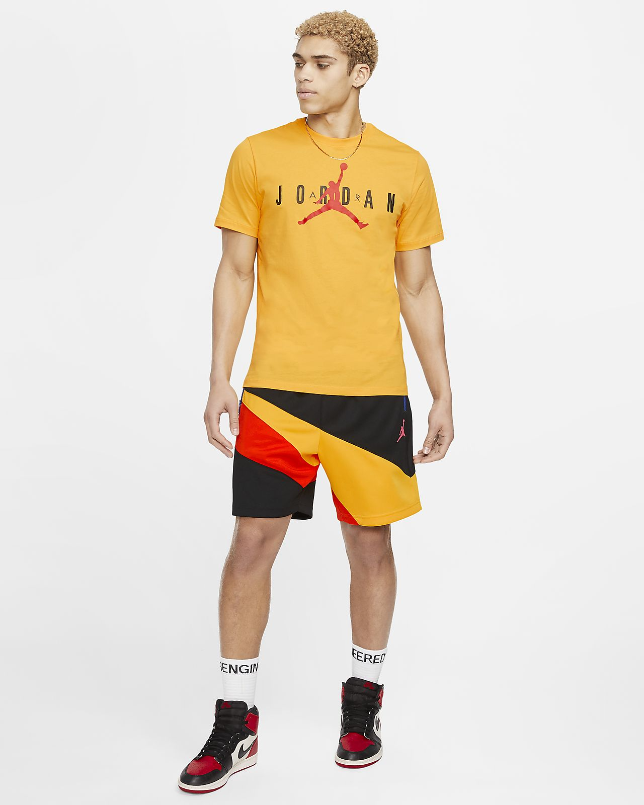 Jordan Air Wordmark Men's T Shirt. Nike NO
