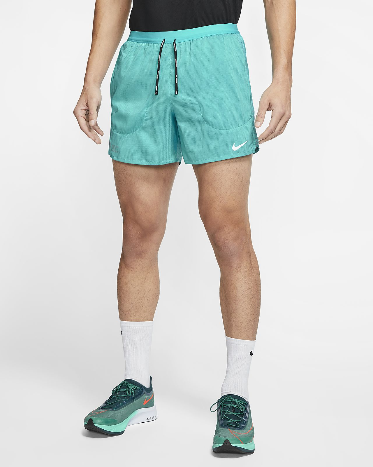 Short de running avec sous-short intégré Nike Flex Stride Future Fast 13 cm pour Homme