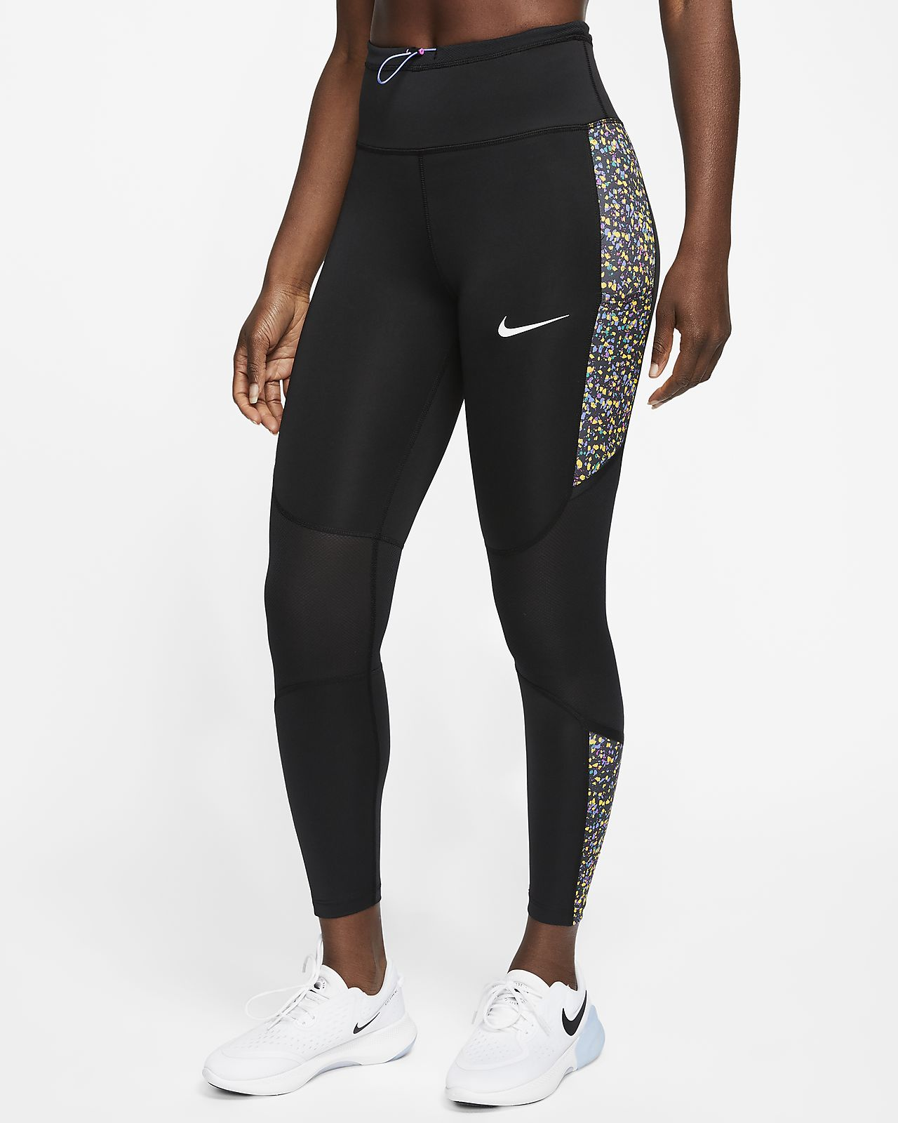 nike 5 tick leggings