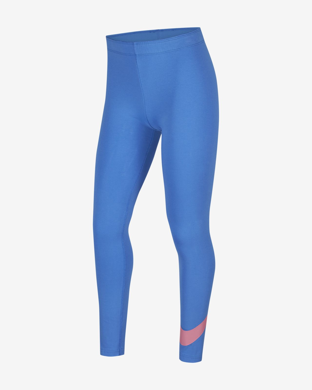 Nike Sportswear Swoosh 大童(女孩)紧身裤