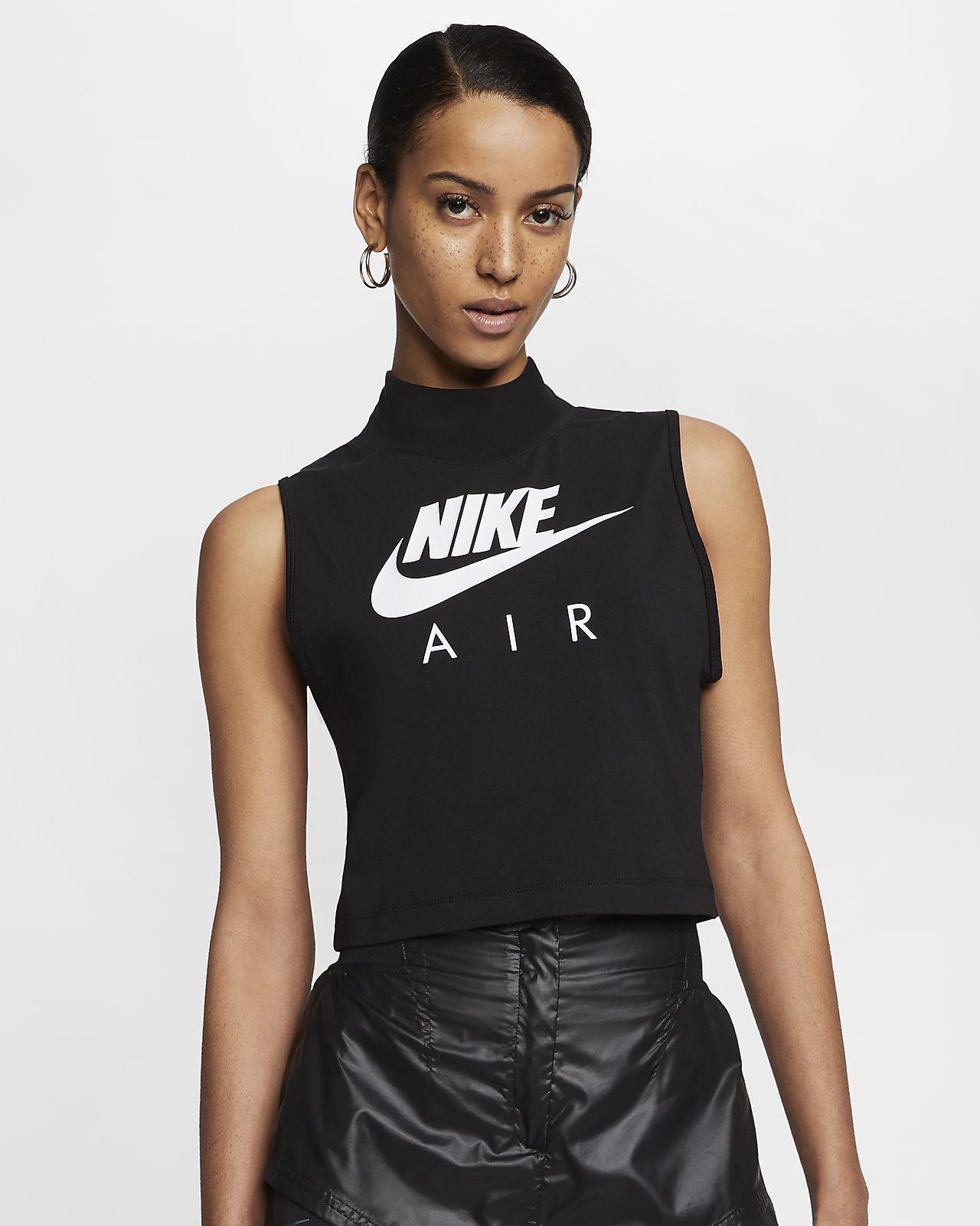 Nike Air női állógalléros trikó