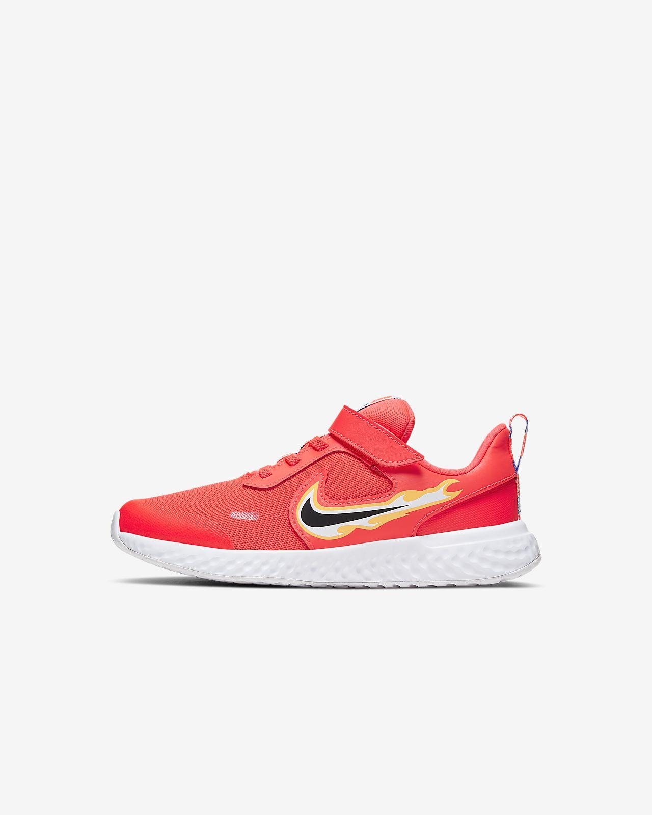 Кроссовки для дошкольников Nike Revolution 5 Fire