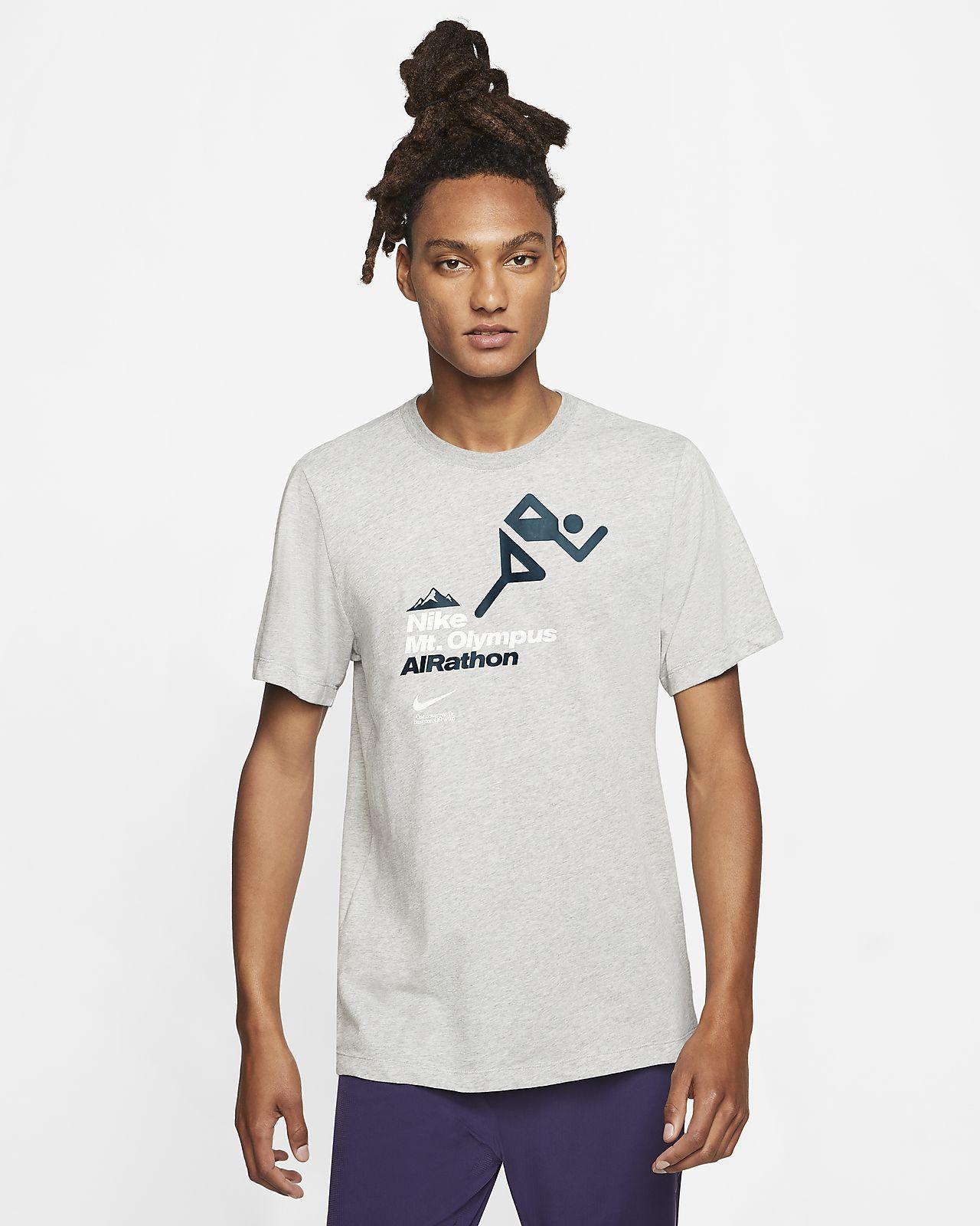 """Nike Dri-FIT """"AIRathon"""" Lauf-T-Shirt für Herren"""