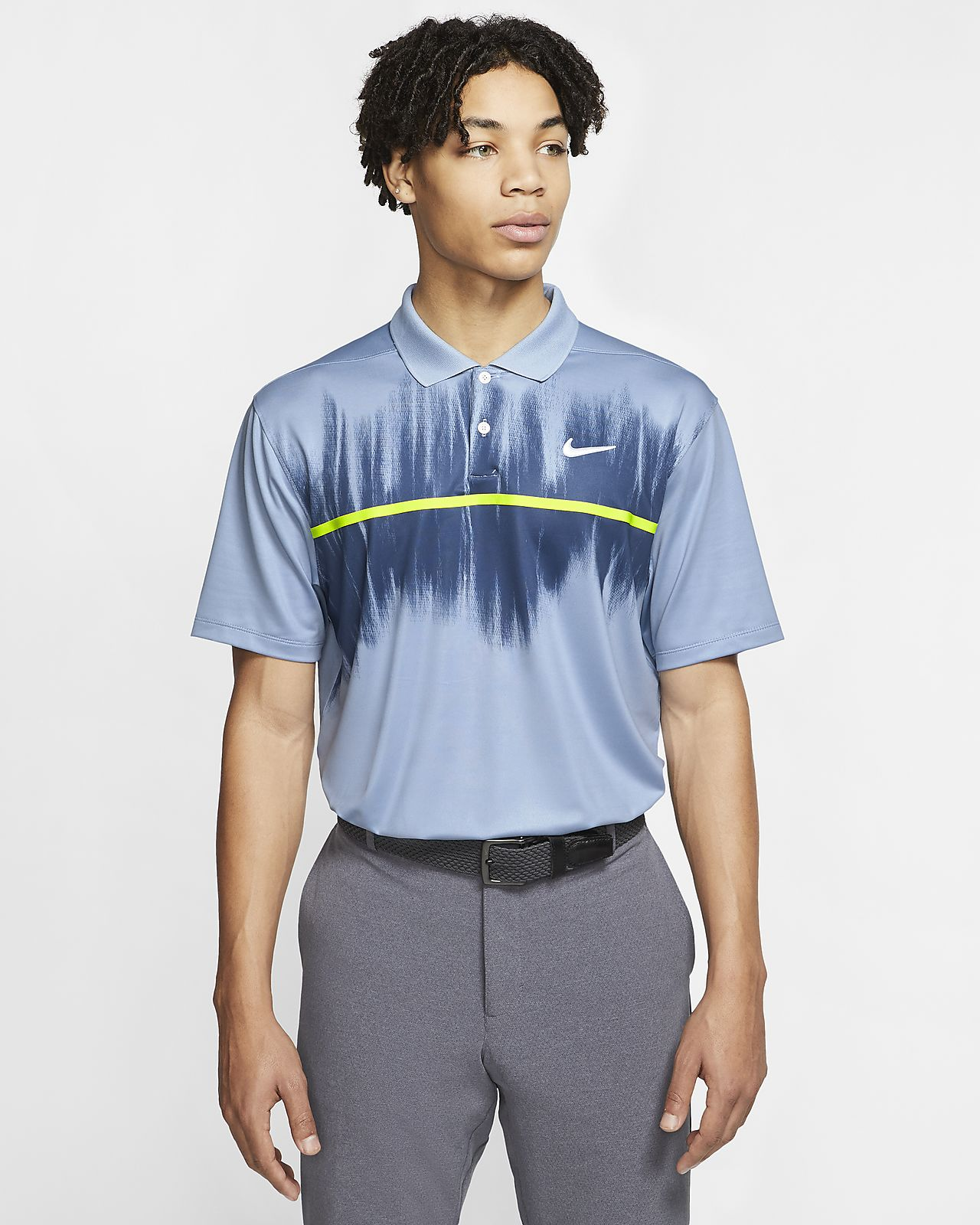 Nike Dri-FIT Vapor Polo de golf estampat - Home