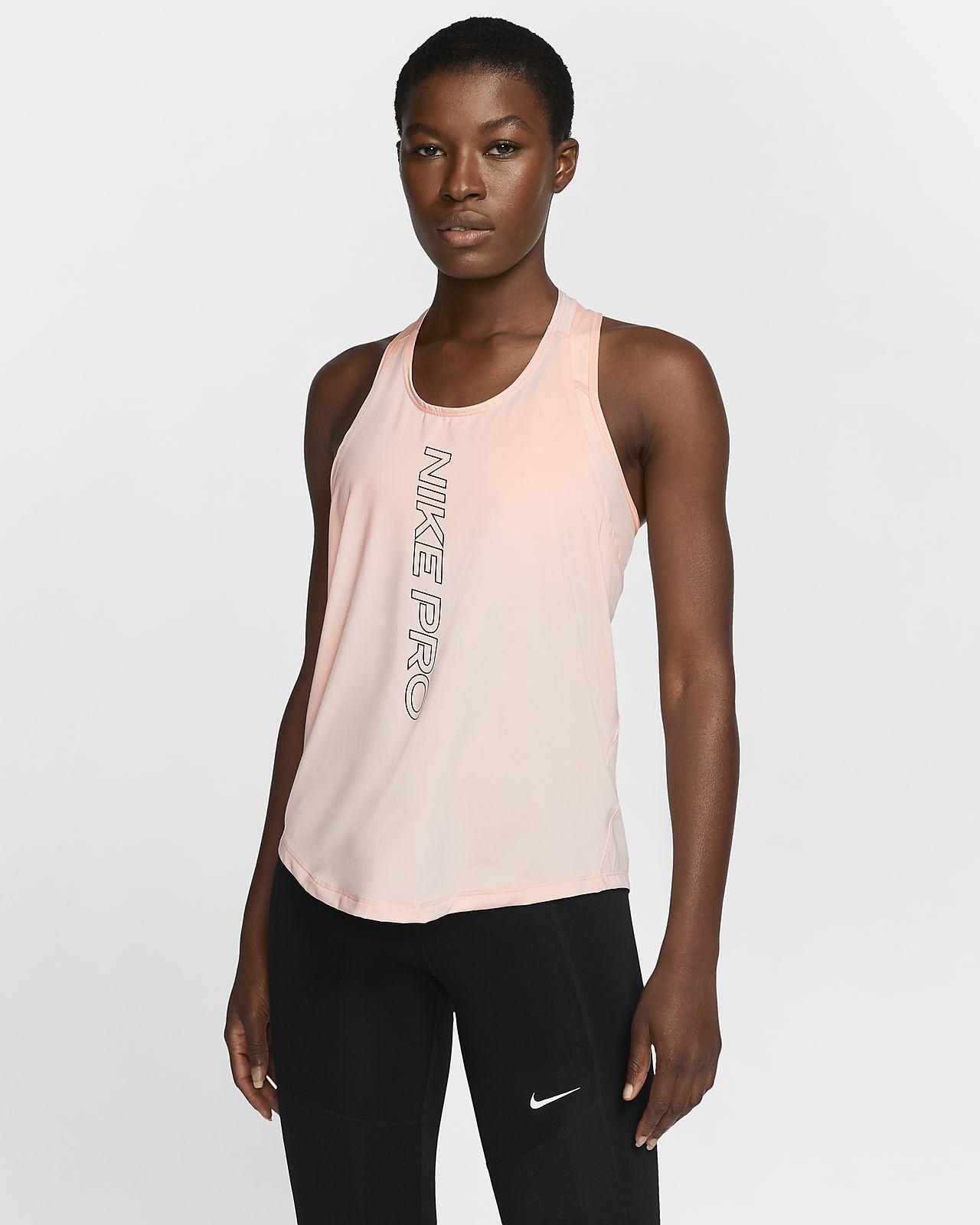 Débardeur à motif Nike Pro Dri-FIT pour Femme