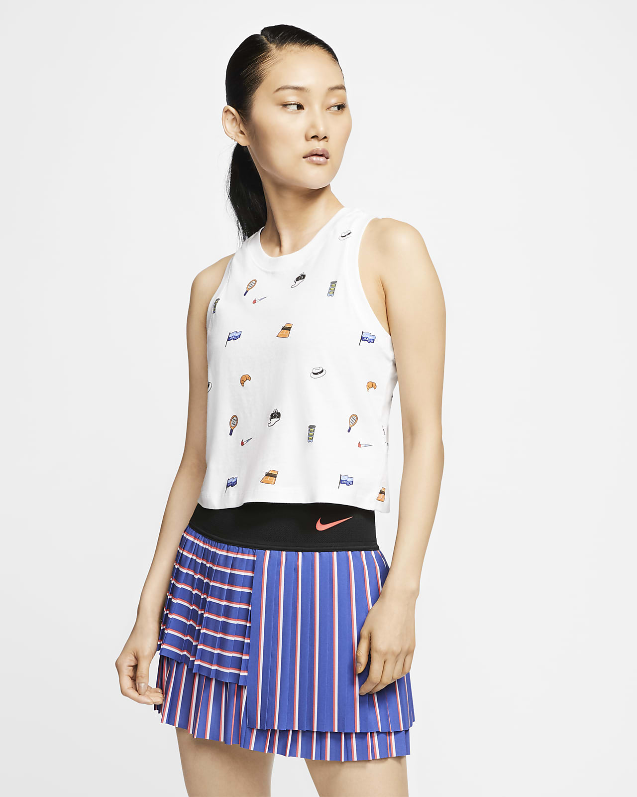 NikeCourt Women's Cropped Tennis Tank