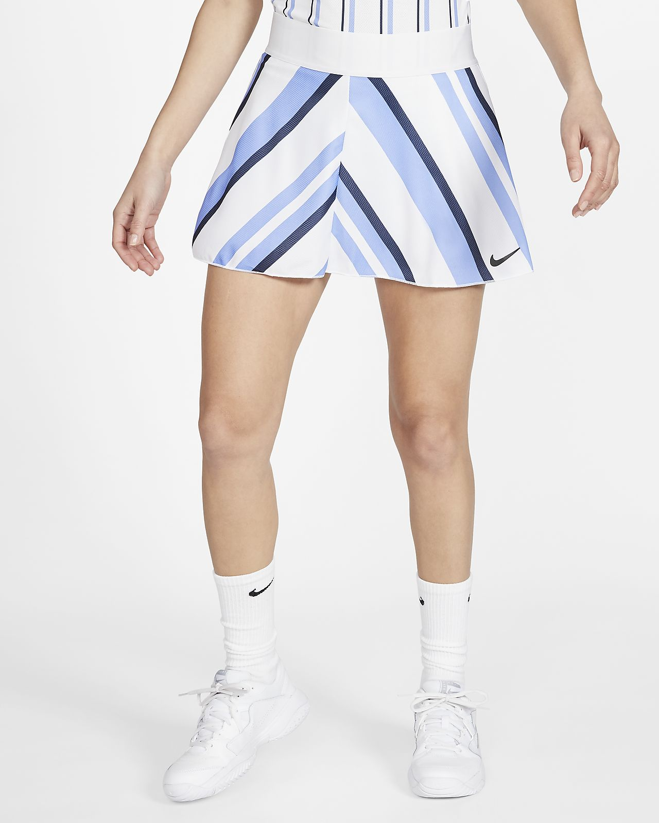 NikeCourt Dri-FIT Women's Printed Tennis Skirt