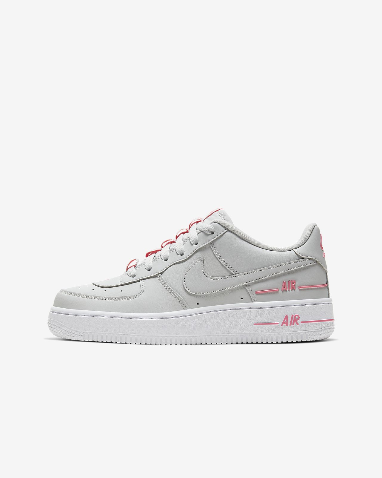 Nike Jungen Air Force 1 Lv8 Style (Gs) Fitnessschuhe, rot