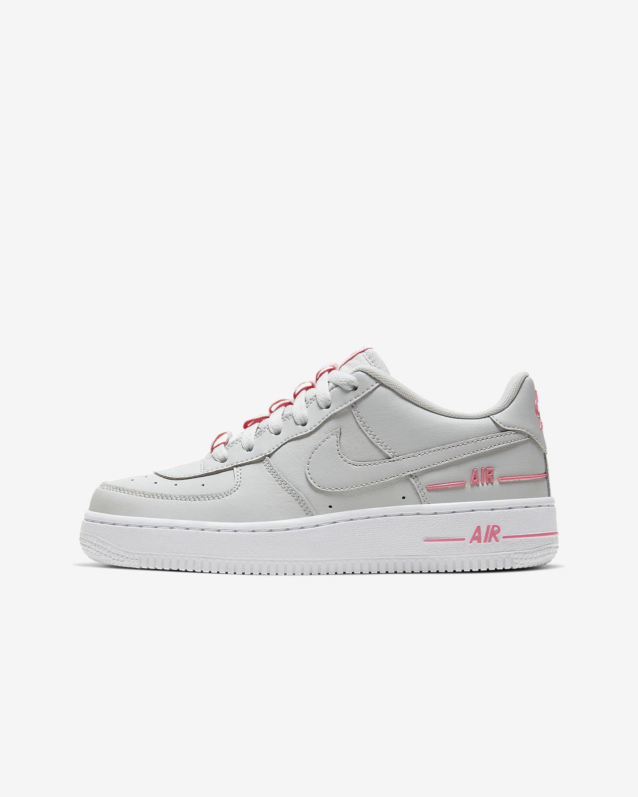 Nike Kids Buty dziecięce Air Force 1 Lv8 biały  