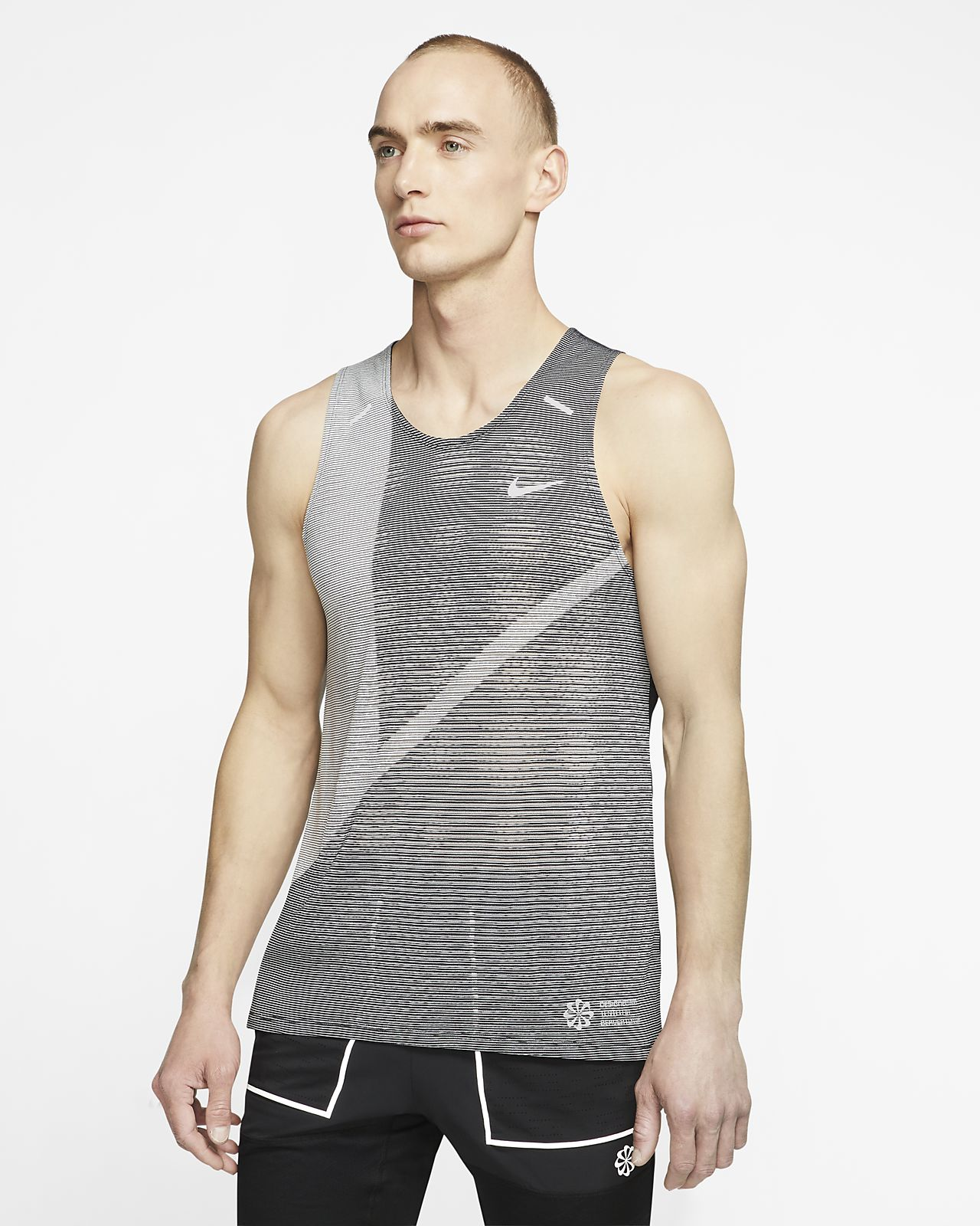 Nike Rise 365 Samarreta de tirants de running - Home