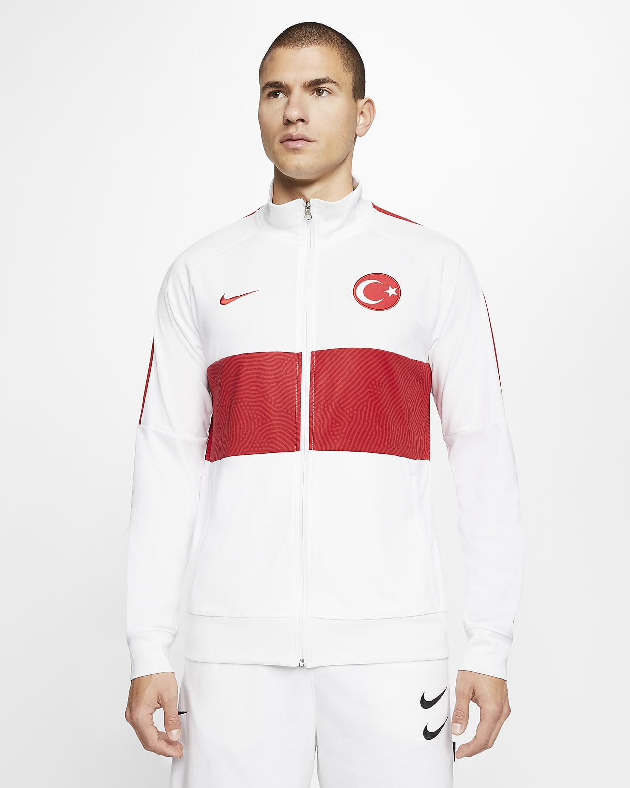 Turkey Men's Football Track Jacket