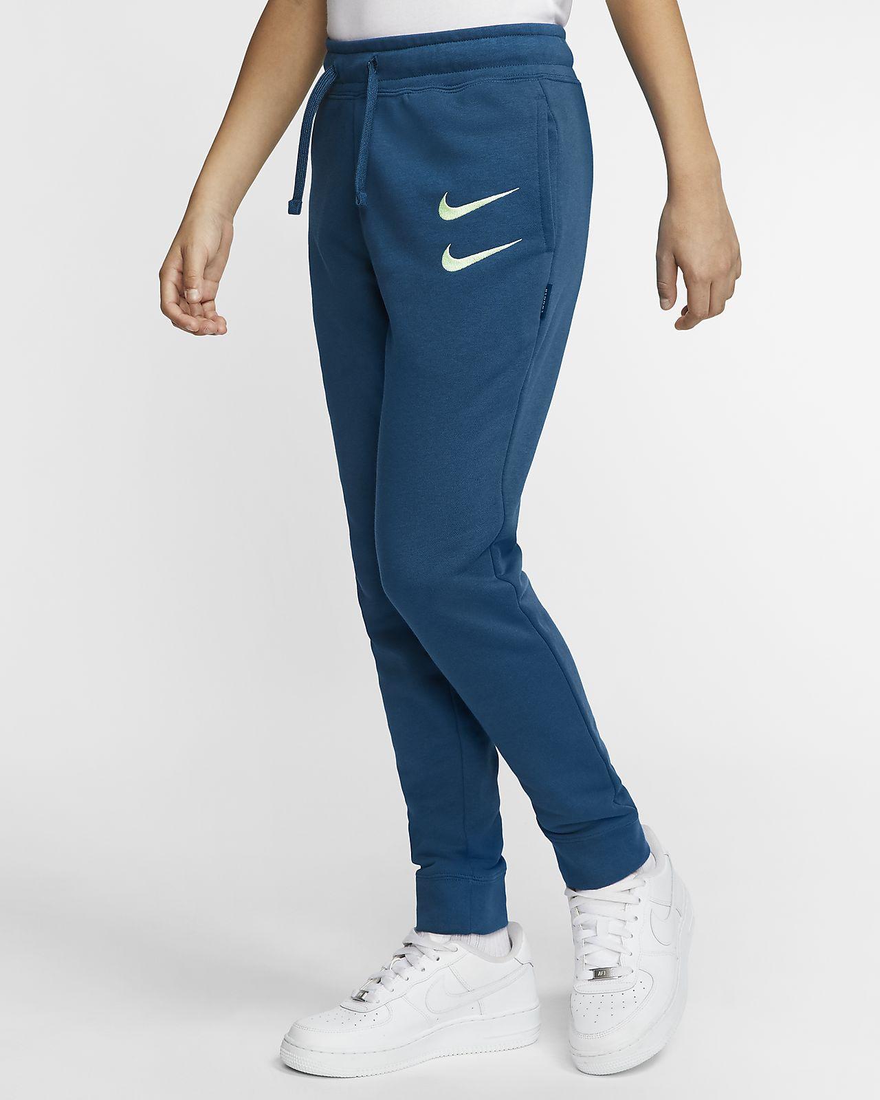Nike Sportswear Swoosh Pantalón de tejido French terry - Niño/a