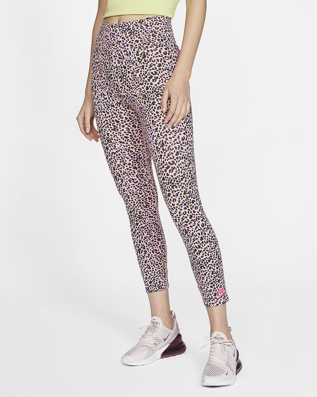 Nike Sportswear Women's High-Waisted Animal Print Leggings