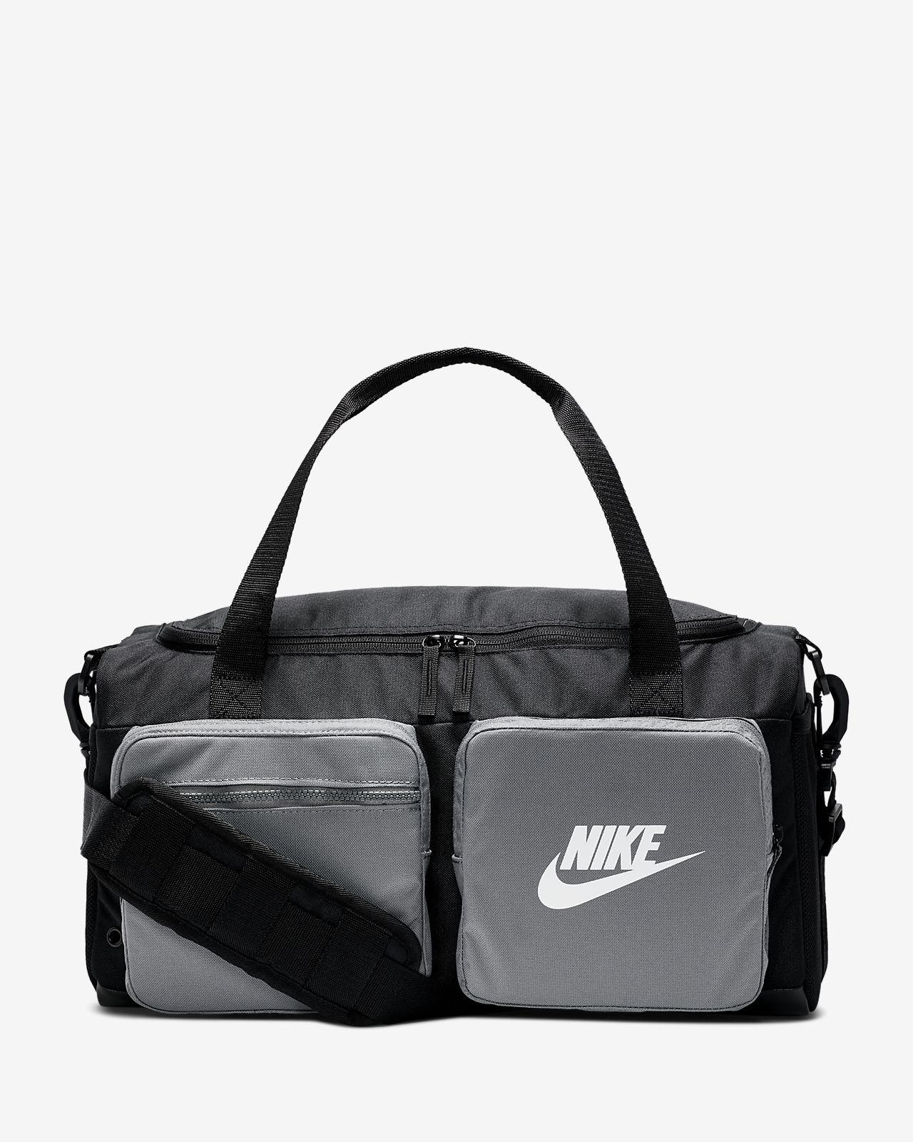 Details about Nike MAX Air Duffle Bag with Handle or Shoulder Strap BlackBlack(White)