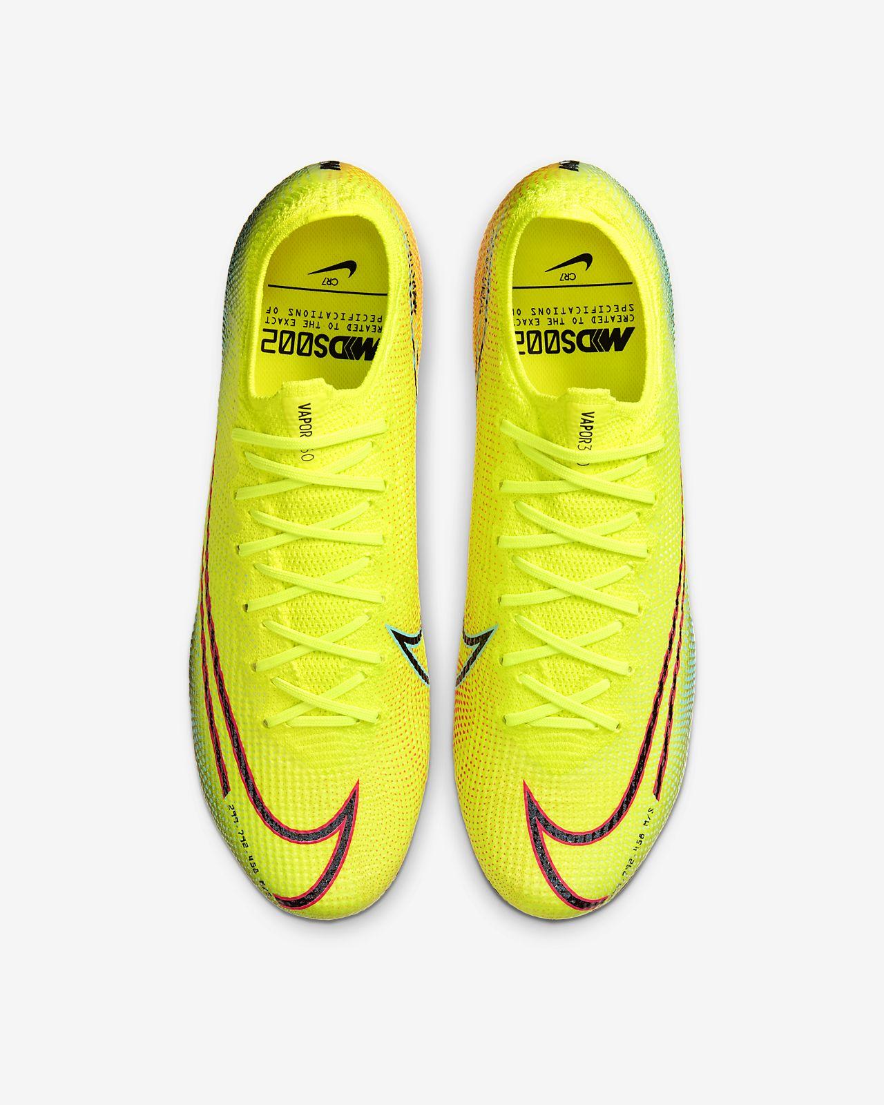 Chuteiras de futebol para terreno firme Nike Mercurial Vapor 13 Elite MDS FG