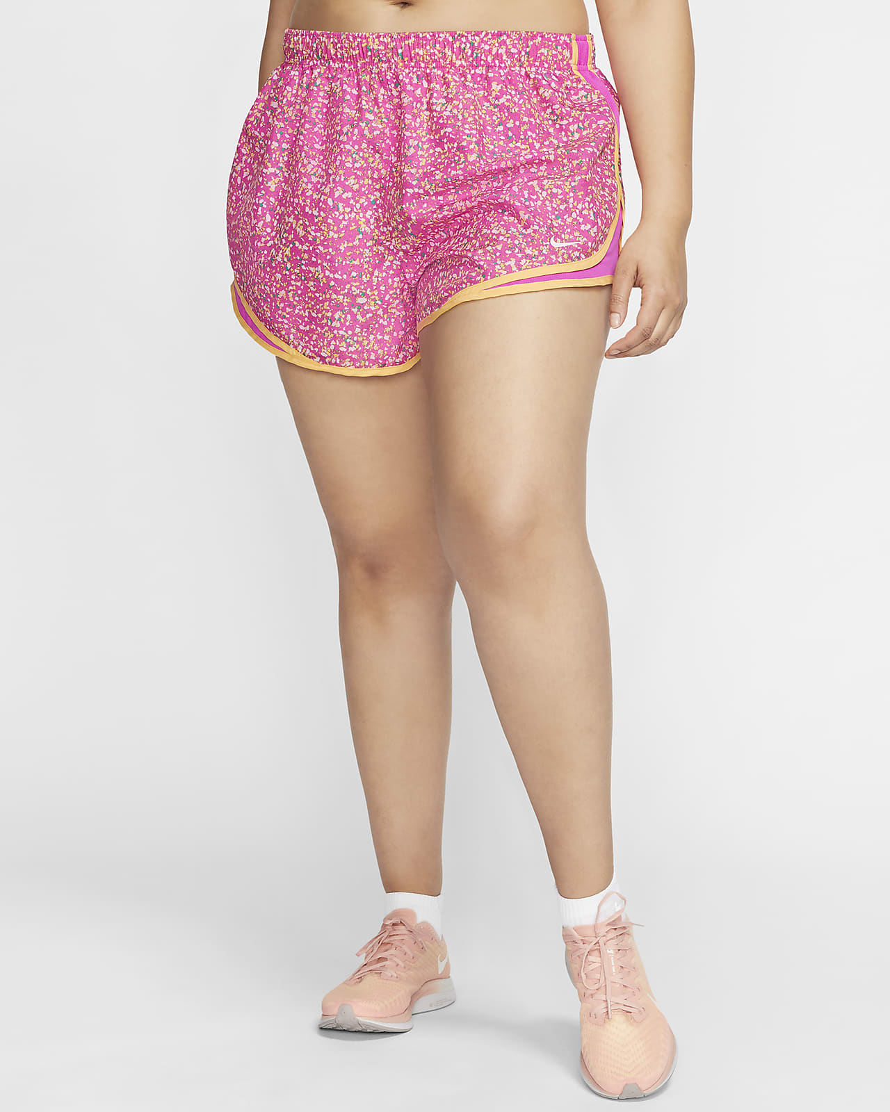 Nike Tempo Icon Clash 女款跑步短褲 (加大尺寸)