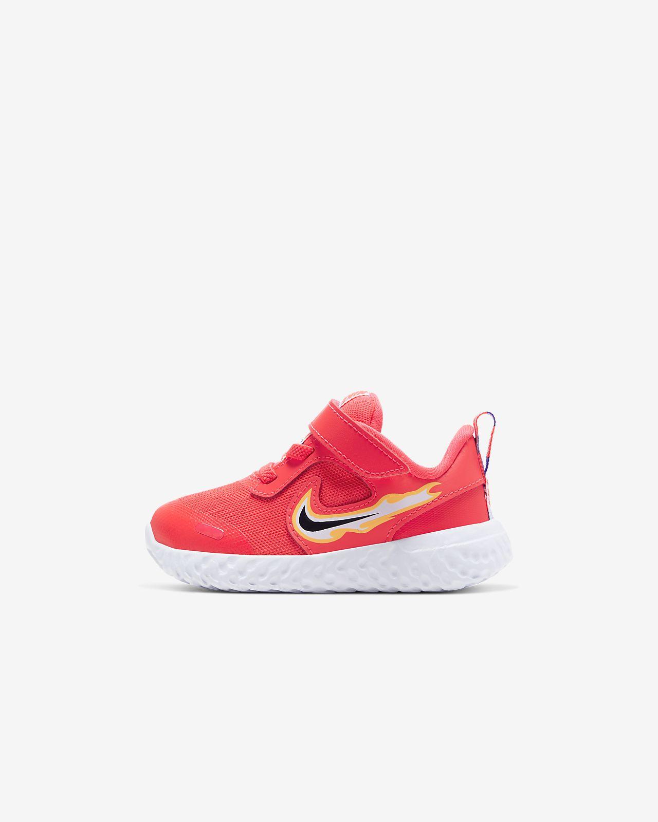 Nike Revolution 5 Fire 嬰幼兒鞋款