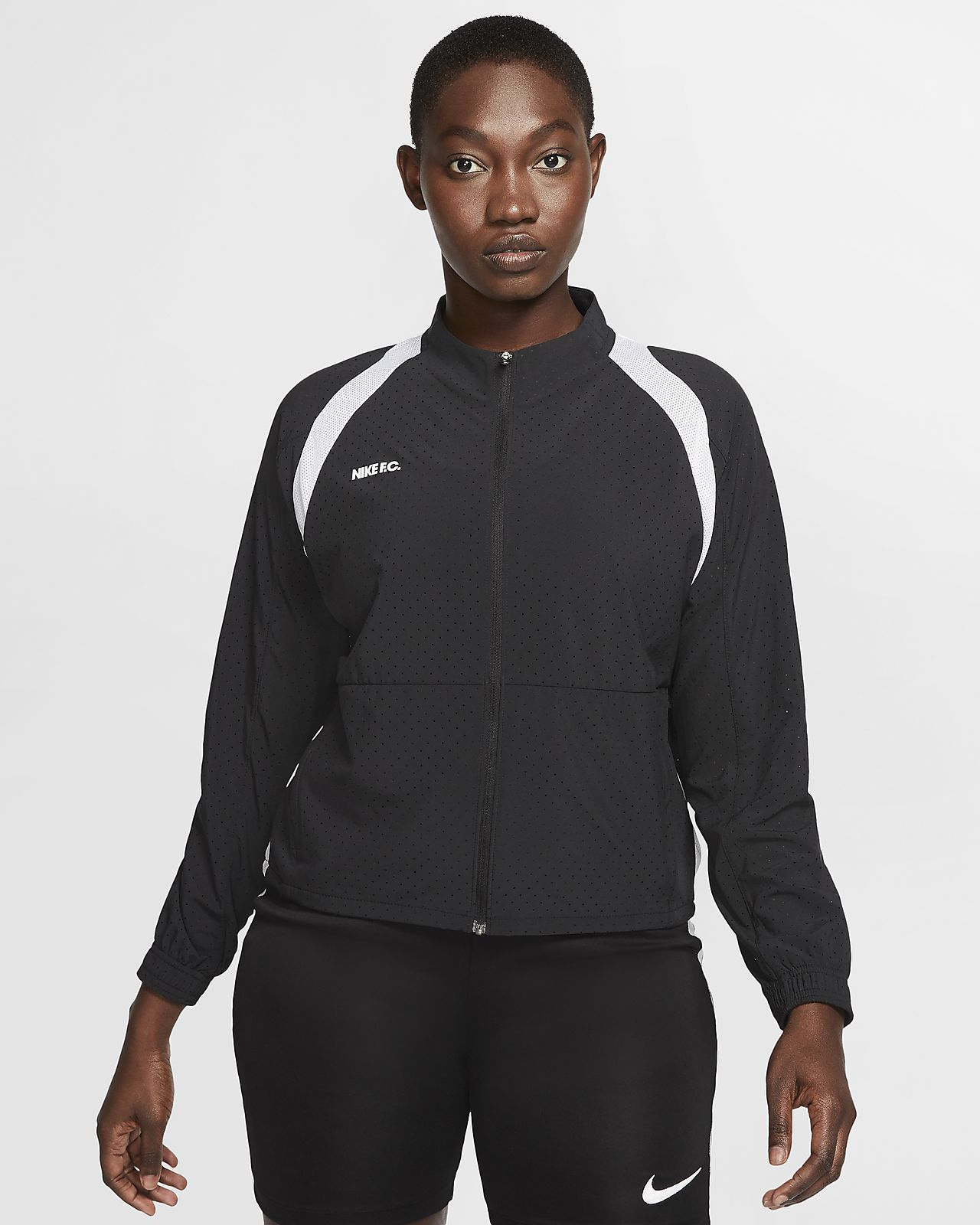 Nike F.C. Women's Full-Zip Soccer Jacket