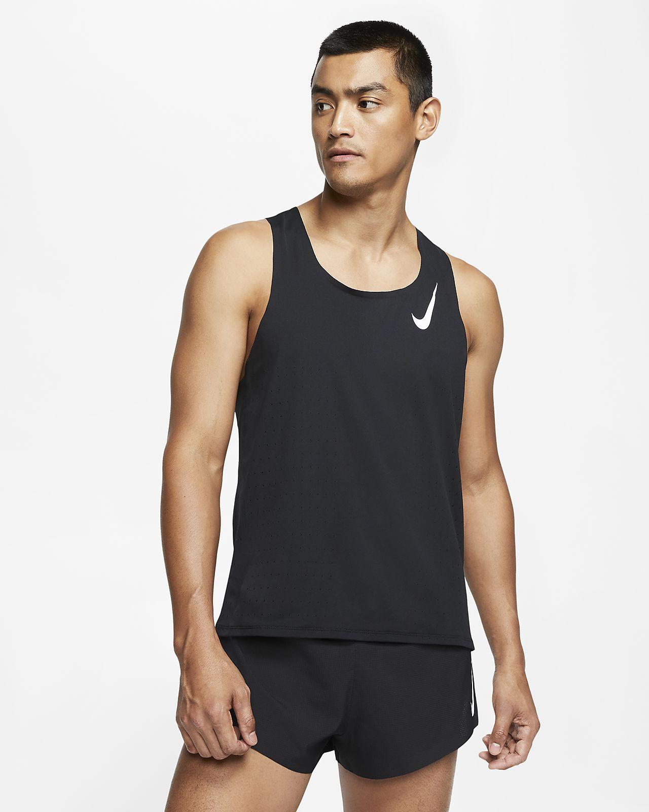 Мужская беговая майка Nike AeroSwift