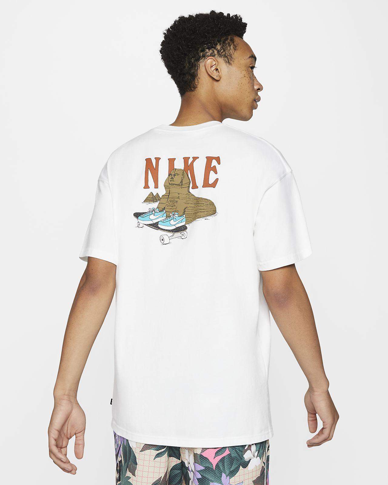 Tee shirt de skateboard Nike SB pour Homme. Nike FR