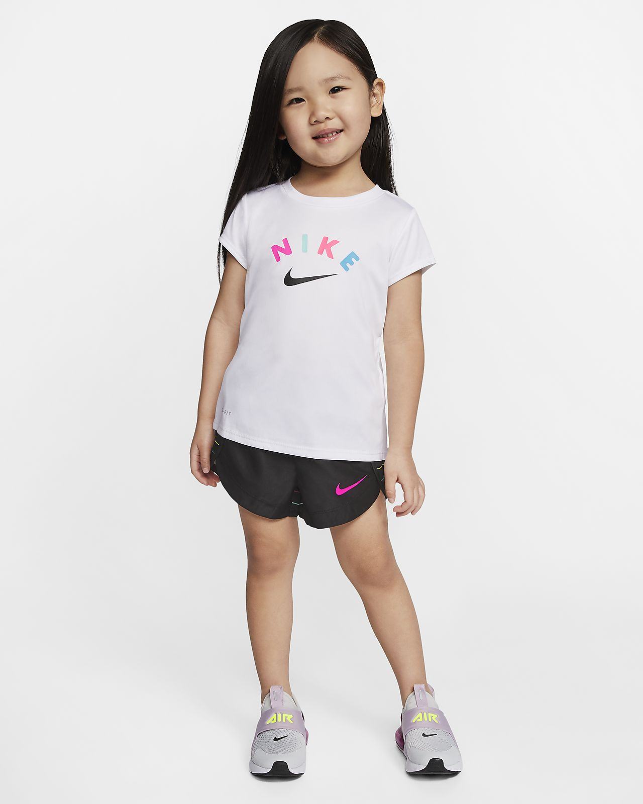 Nike Dri-FIT Toddler T-Shirt and Shorts Set