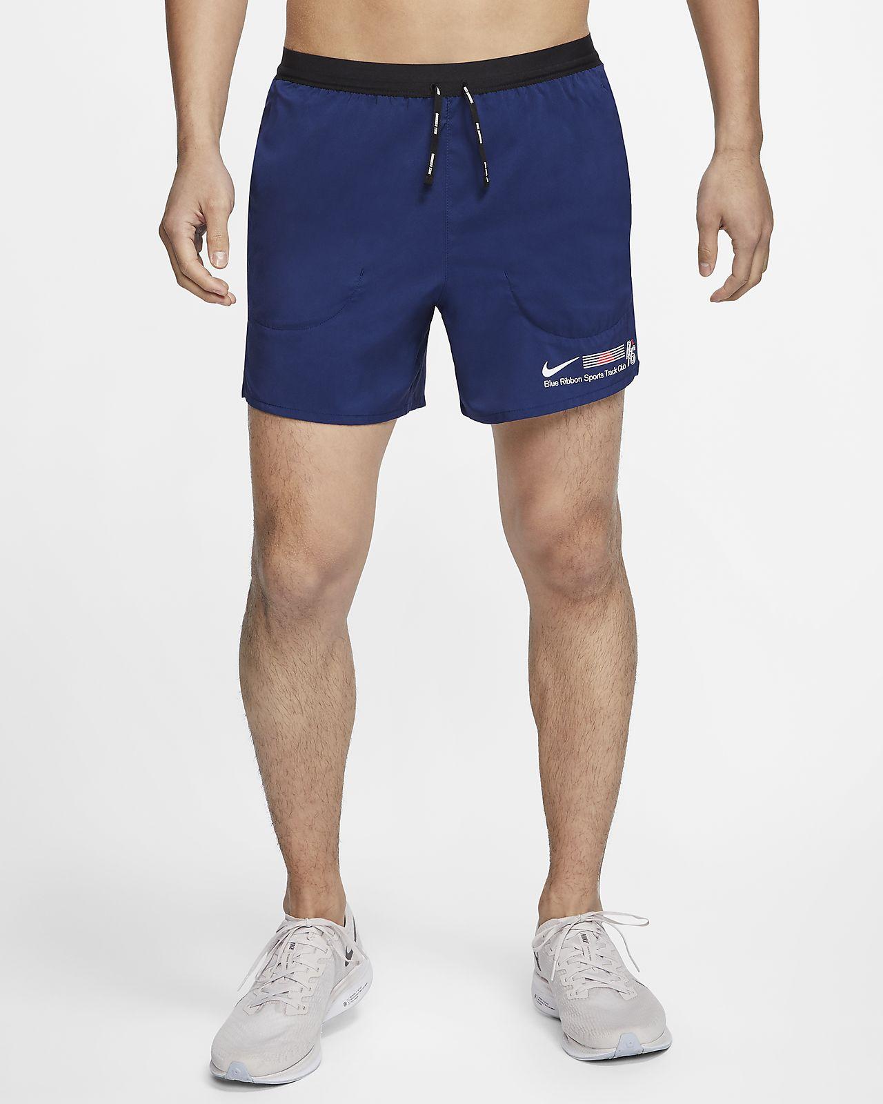 ナイキ フレックス ストライド ブルー リボン スポーツ メンズ 9cm ランニングショートパンツ (インナー付き)