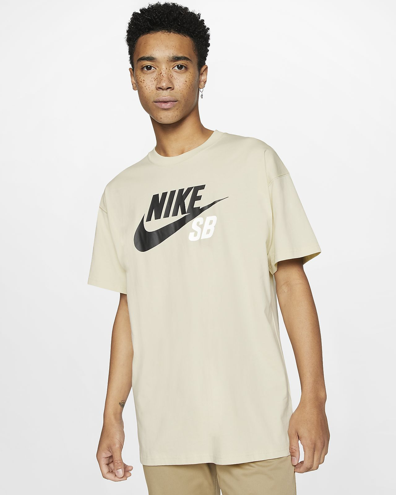 Męski T-shirt do skateboardingu z logo Nike SB