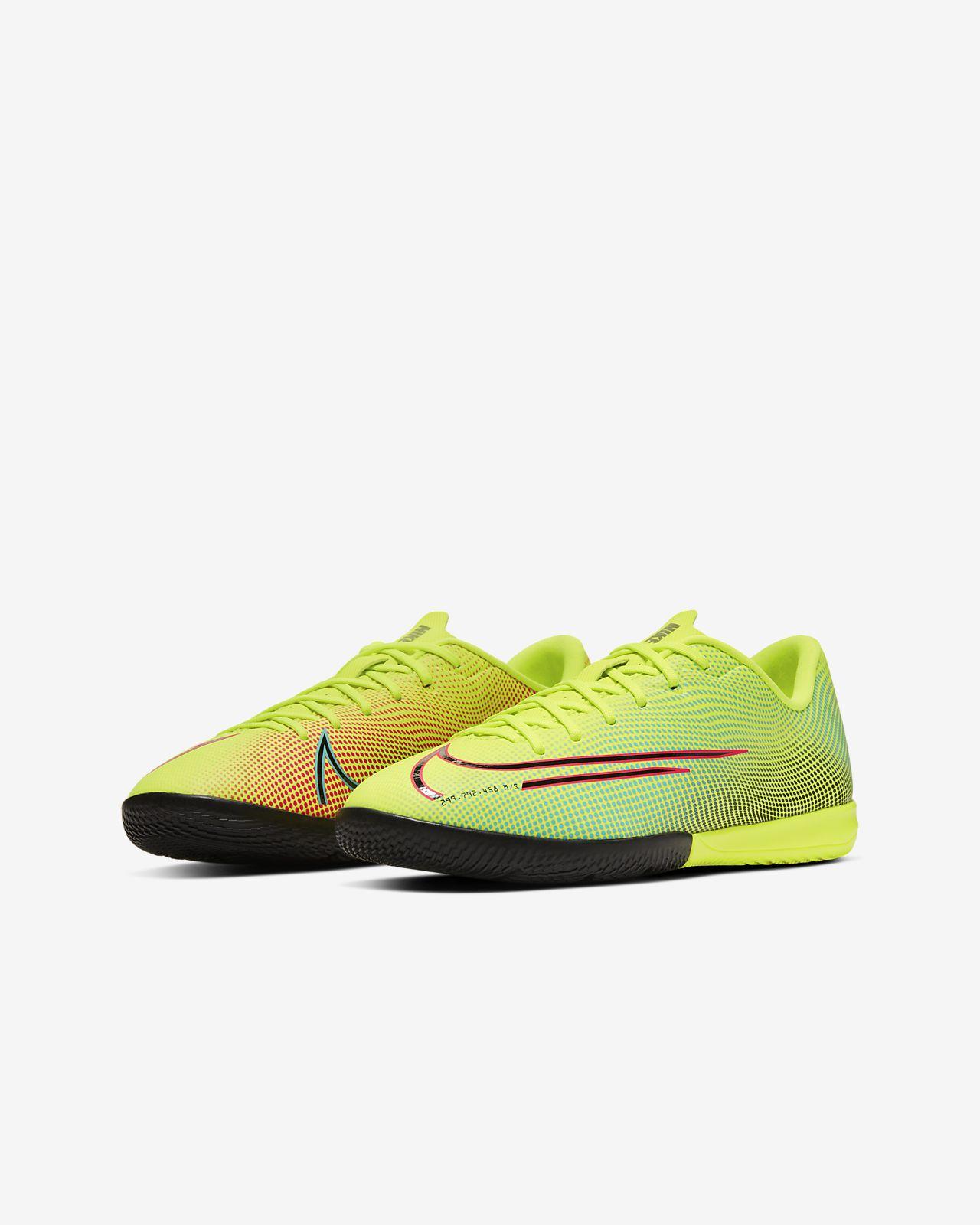 Nike Jr. Mercurial Vapor 13 Academy MDS IC Fußballschuh für Hallen und Hartplätze für jüngereältere Kinder