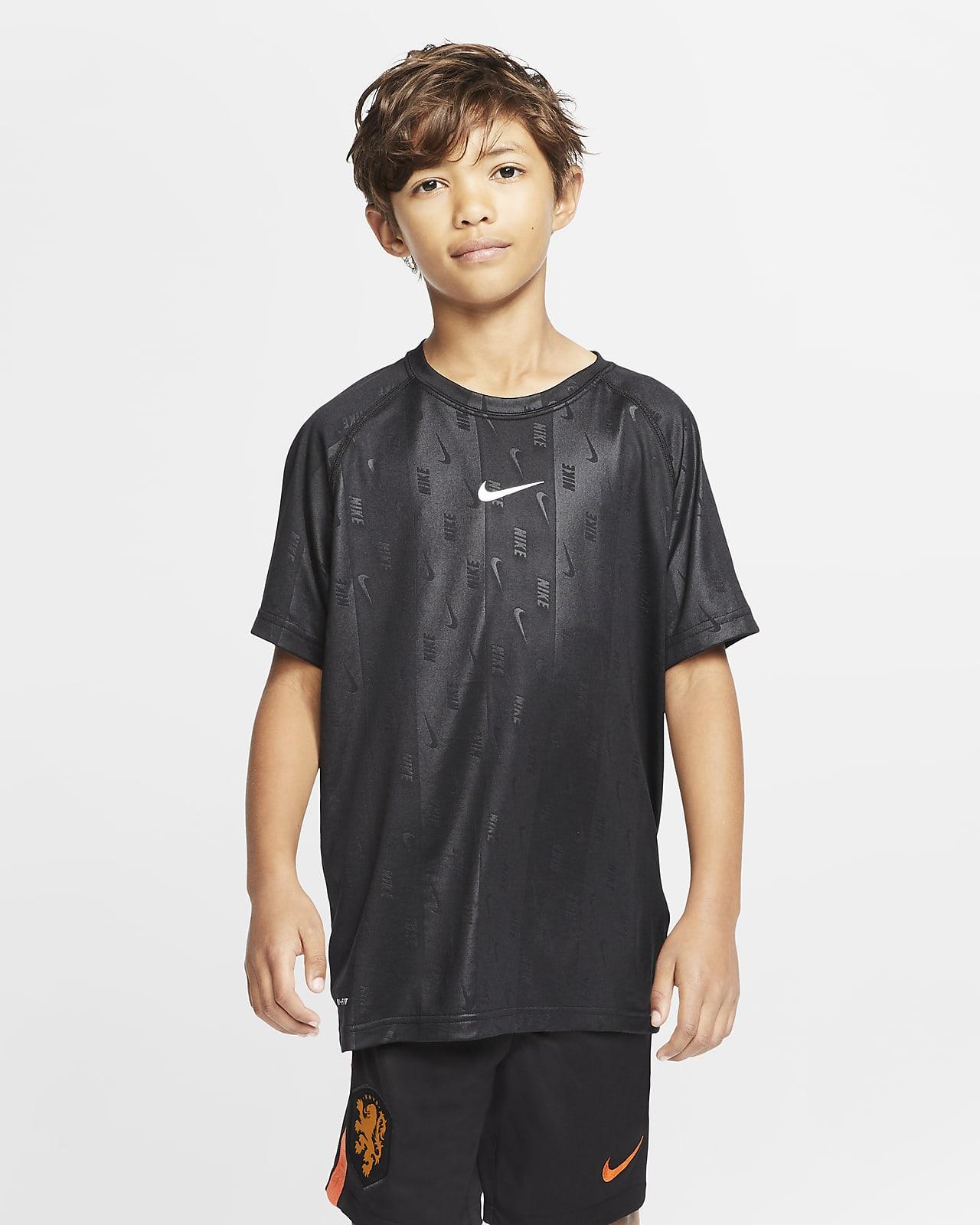 Nike Dri-FIT-trænings-T-shirt til store børn (drenge)