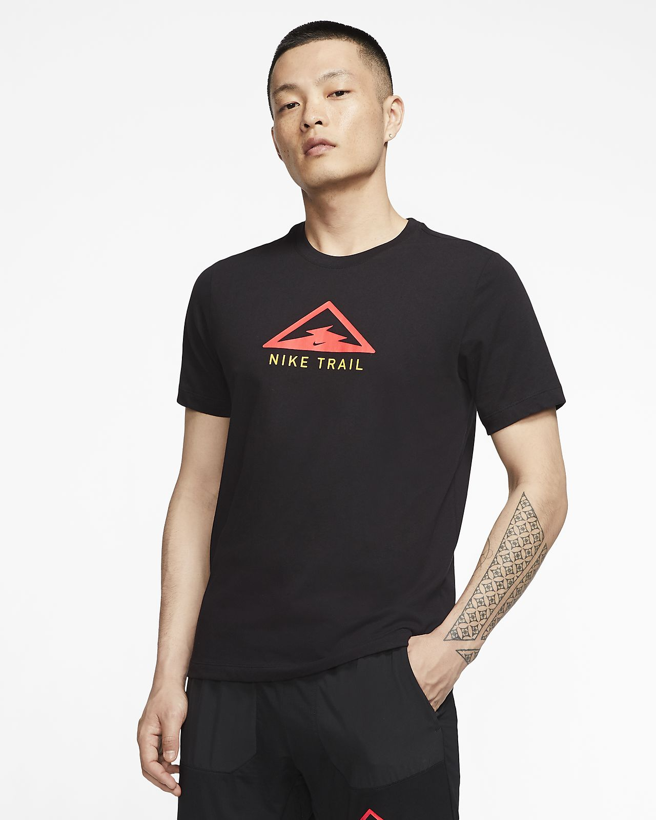 Nike Dri-FIT Trail Men's Trail Running T-Shirt