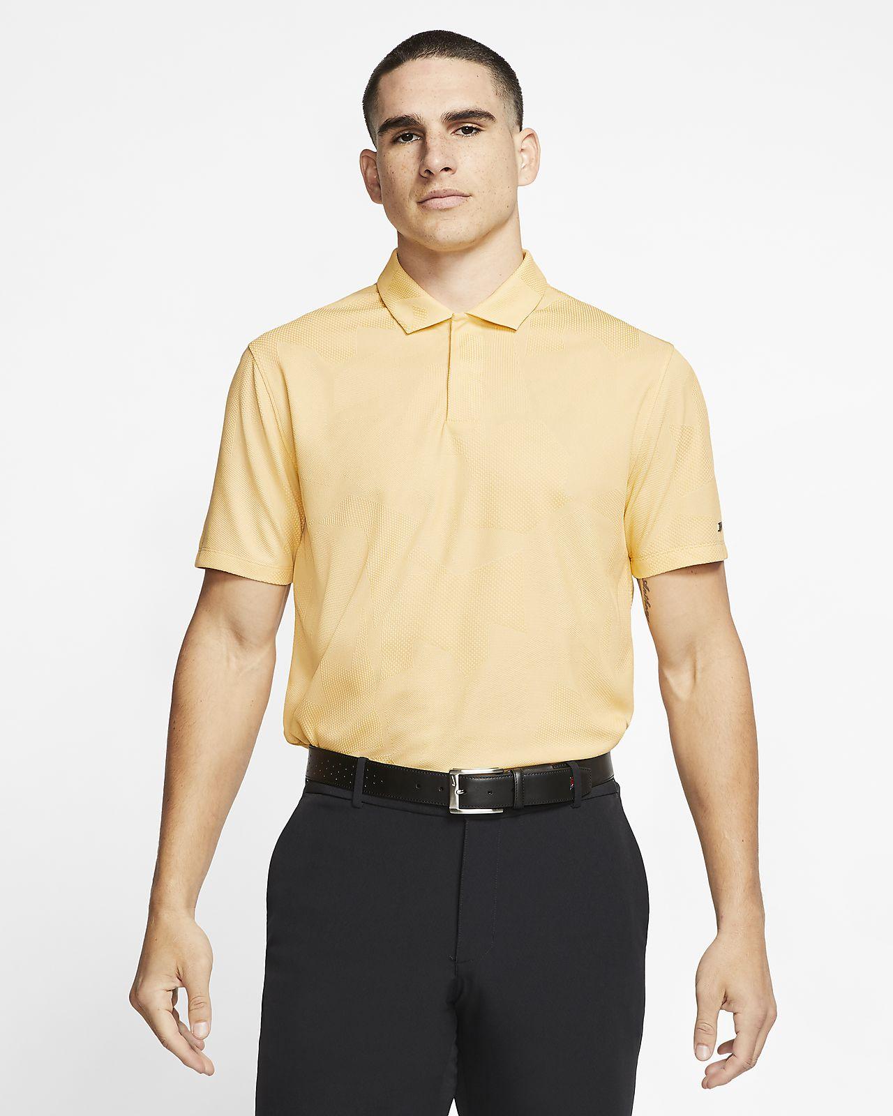 Męska koszulka polo do golfa w kolorze moro Nike Dri-FIT Tiger Woods