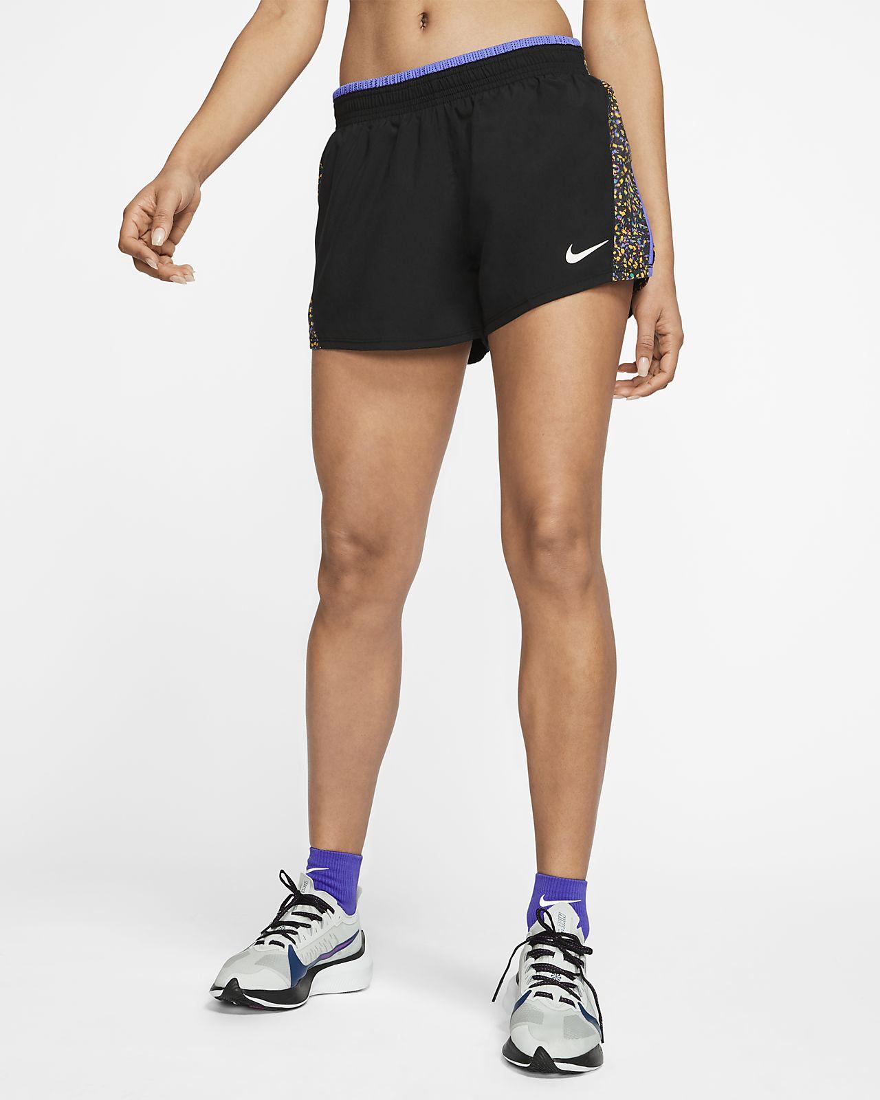 Женские беговые шорты Nike 10K Icon Clash