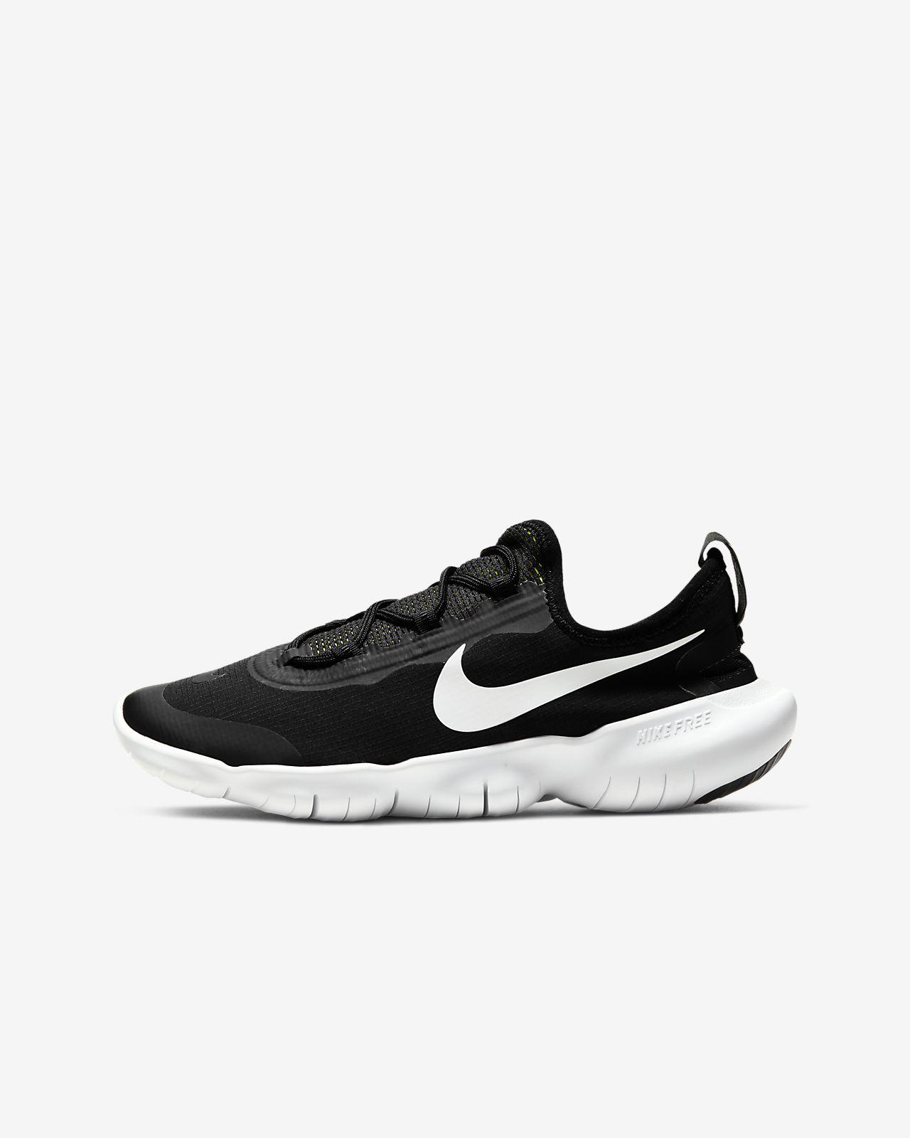 Nike Boys Free 5.0 Running Shoes