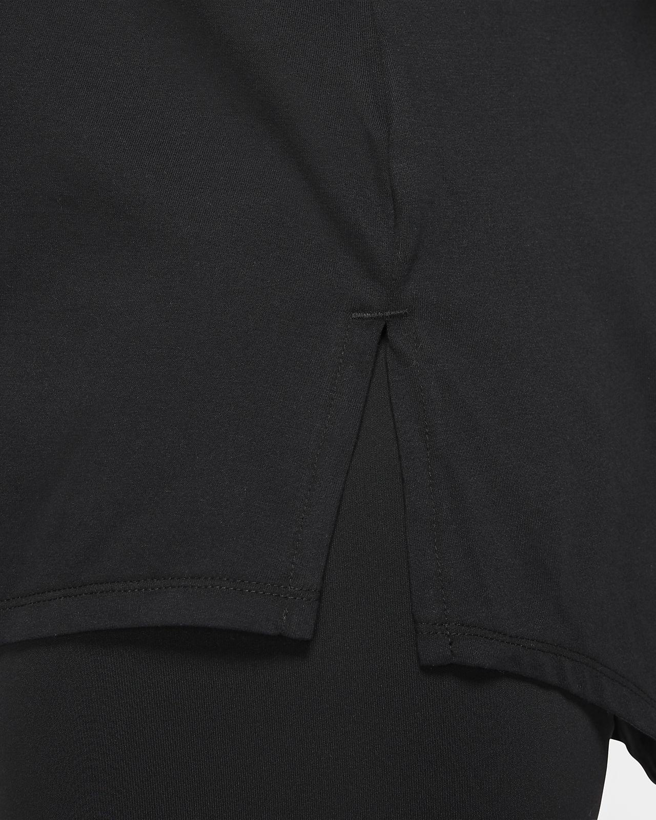 Nike Dri FIT Icon Clash trænings T shirt til kvinder (plus size)