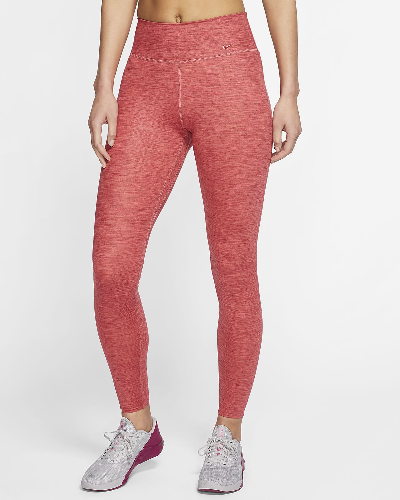 Nike One Luxe Women's Heathered Mid-Rise Tights