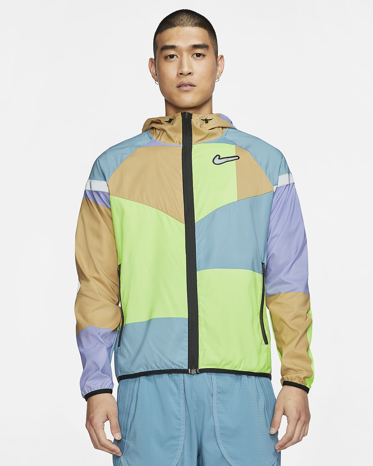 Nike Windrunner Wild Run 男款跑步外套